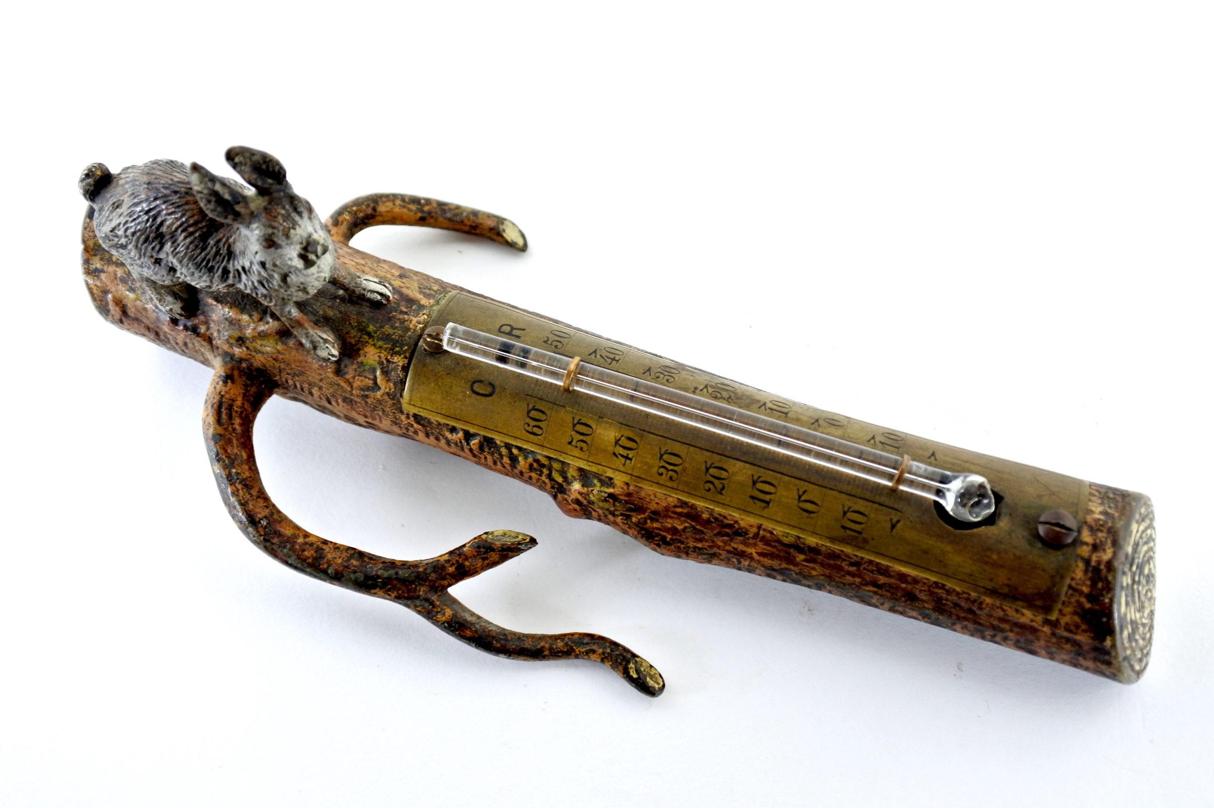 Bronzo di Vienna - Lepre con termometro - 5