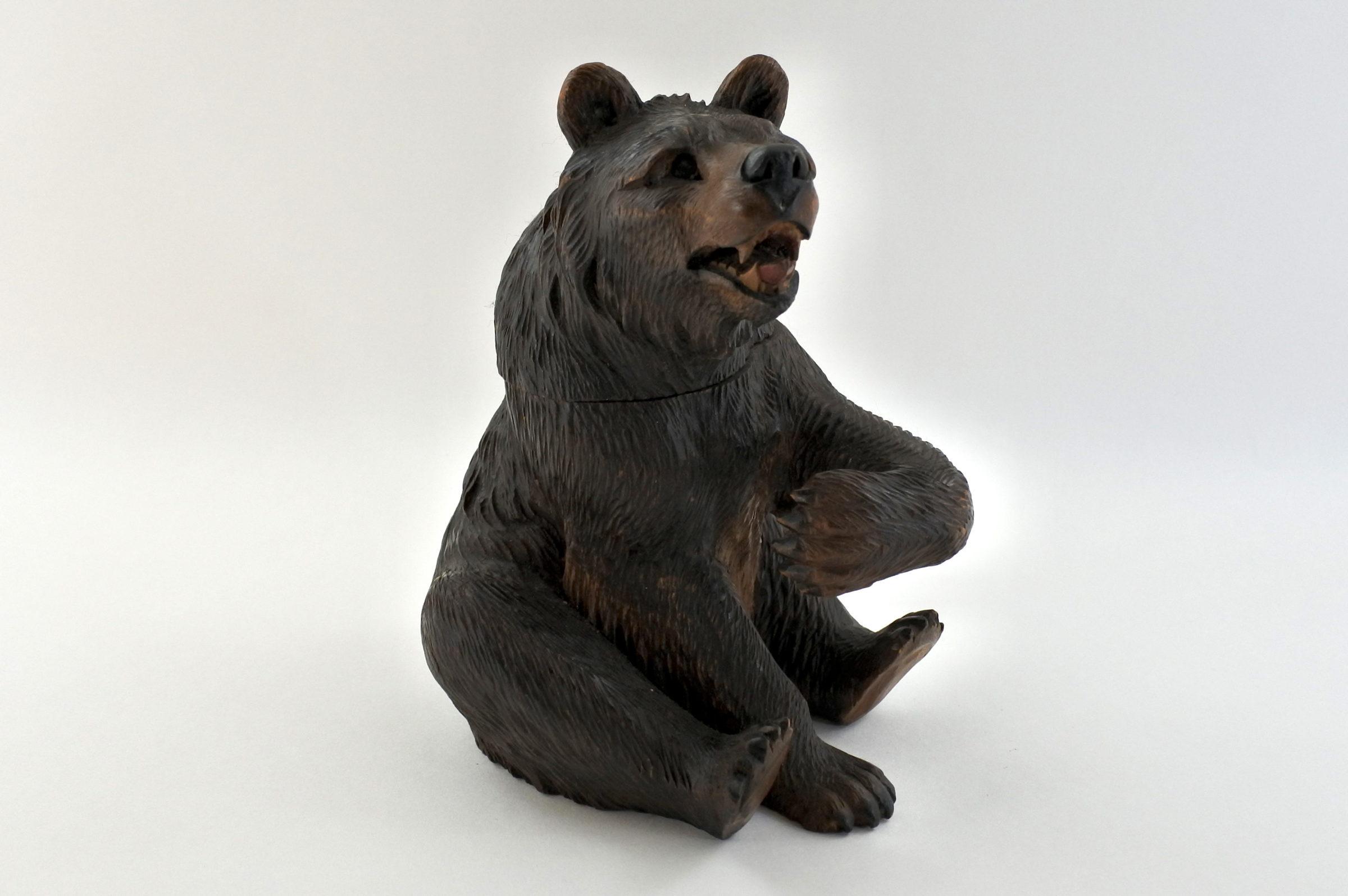 Calamaio foresta nera a forma di orso - 2
