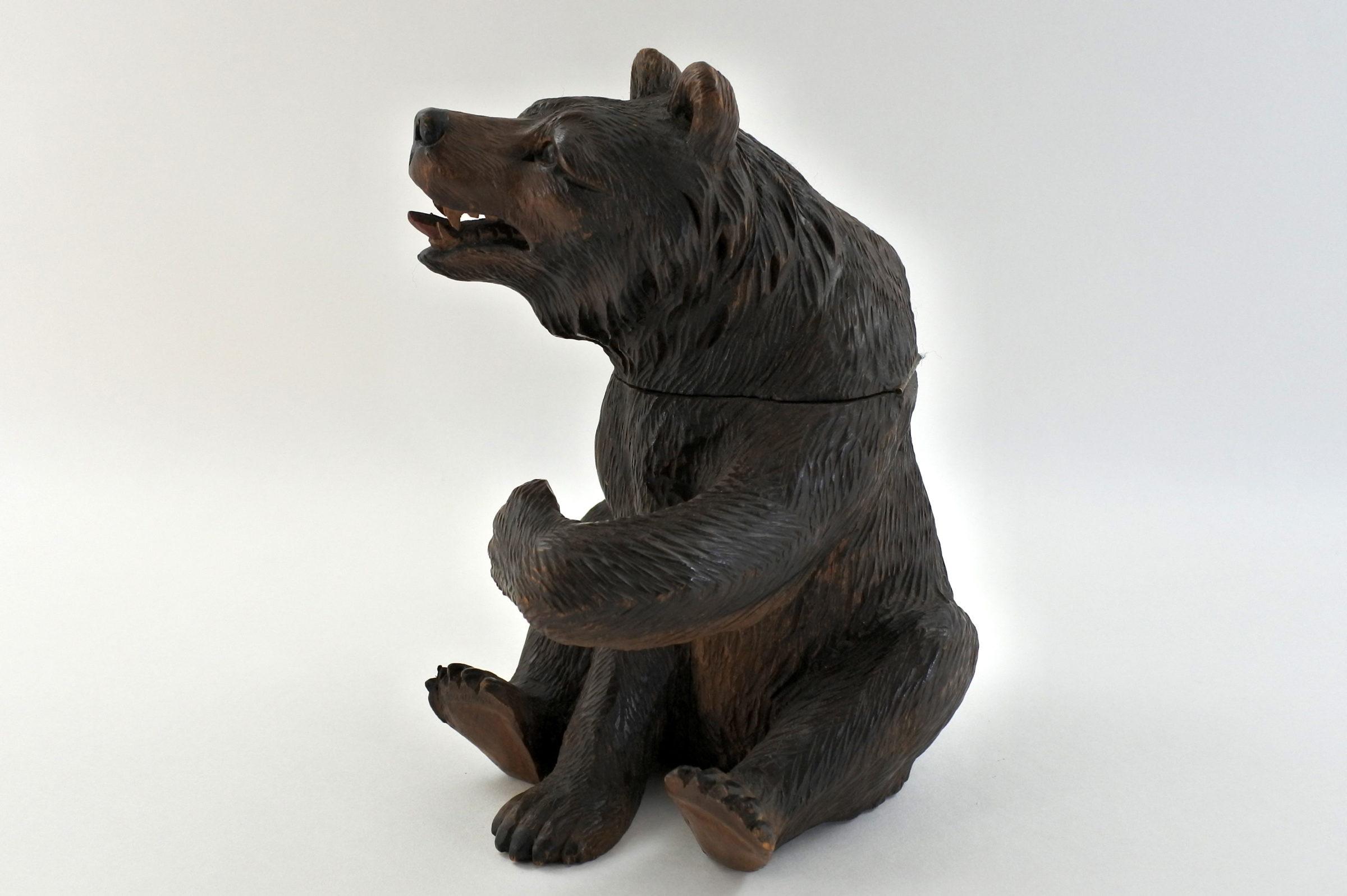 Calamaio foresta nera a forma di orso - 3