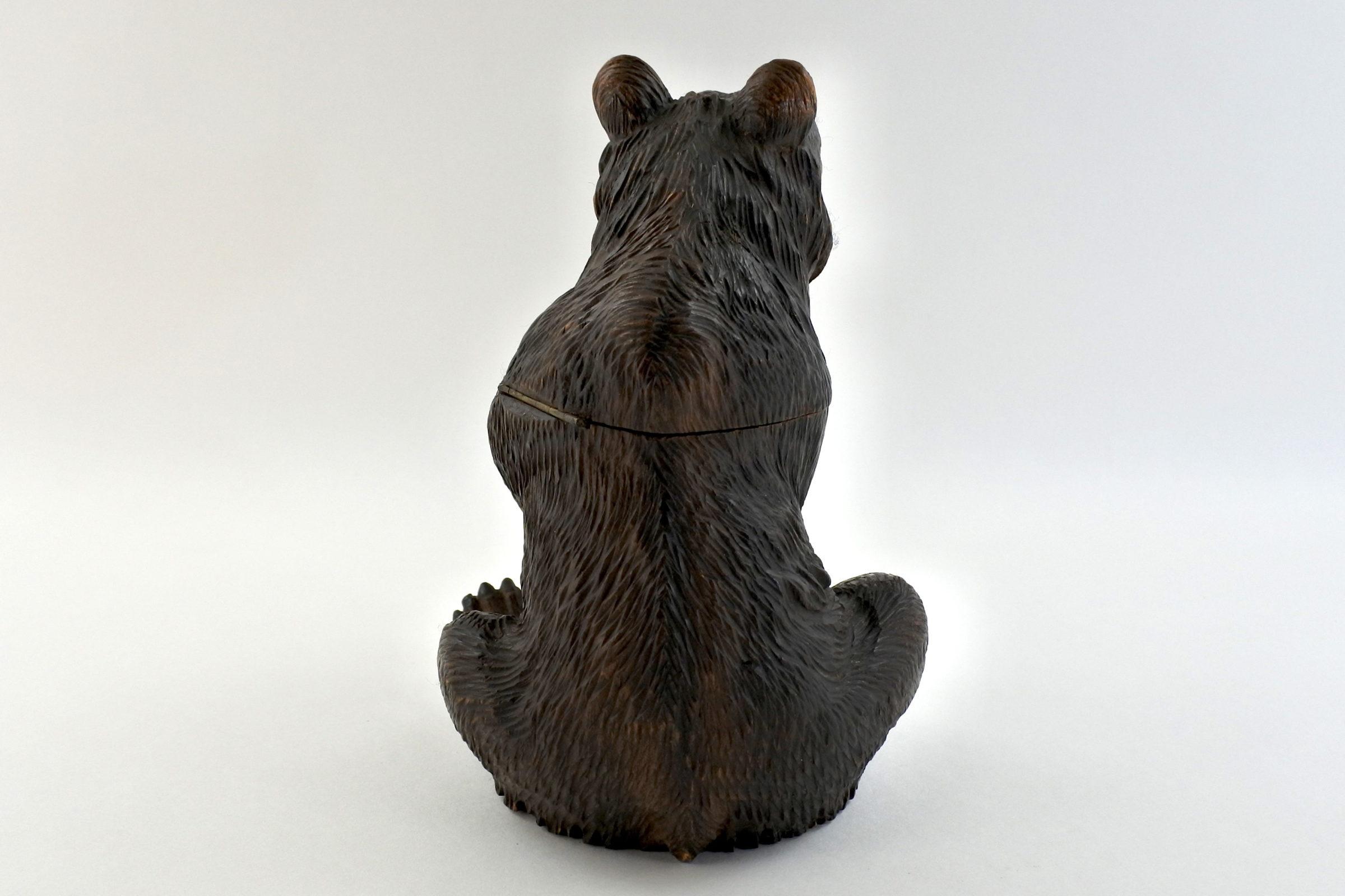 Calamaio foresta nera a forma di orso - 4