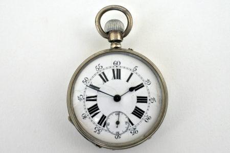 Orologio da tasca in argento – Dubois Genève