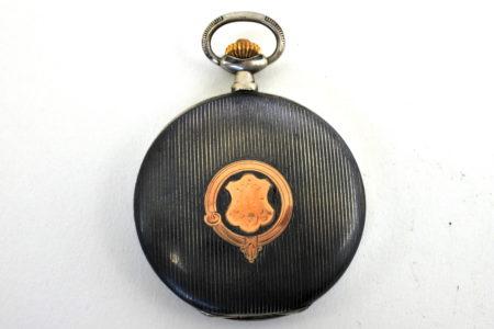 Orologio da tasca in argento e niello – Audemars Piguet Genève