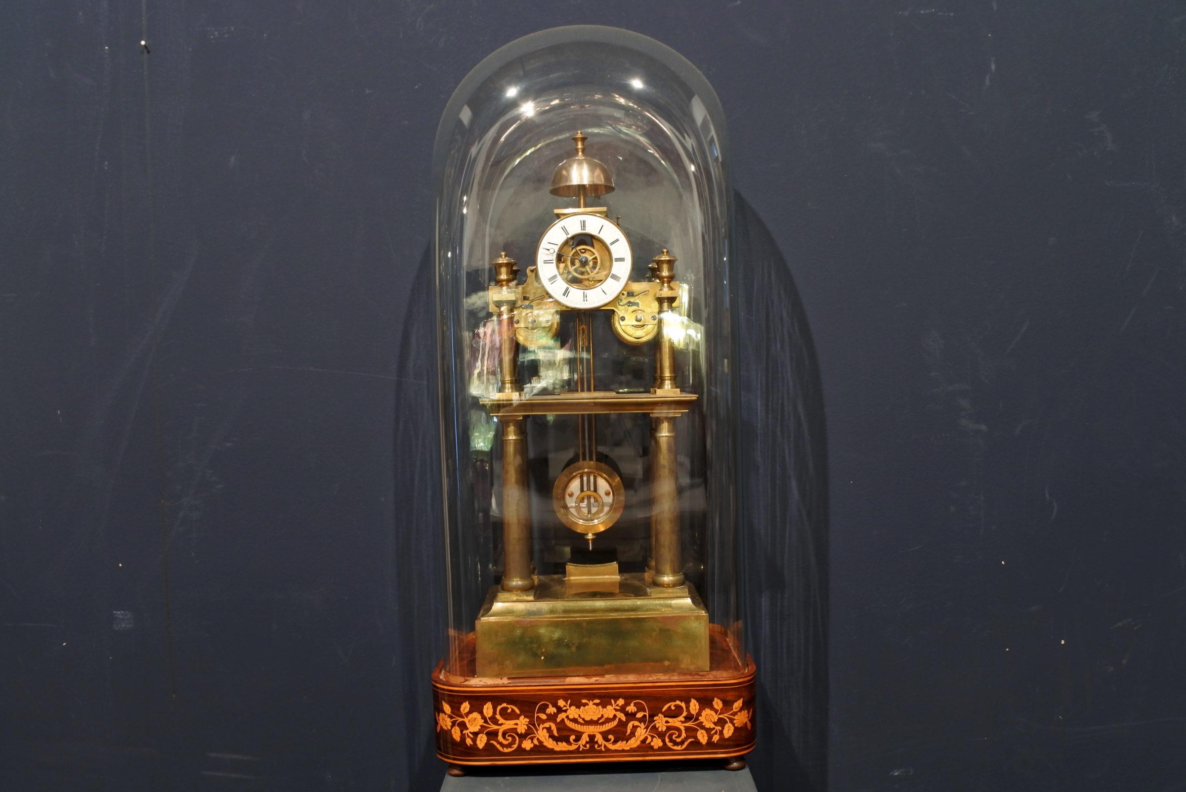Orologio scheletrato in ottone - 4