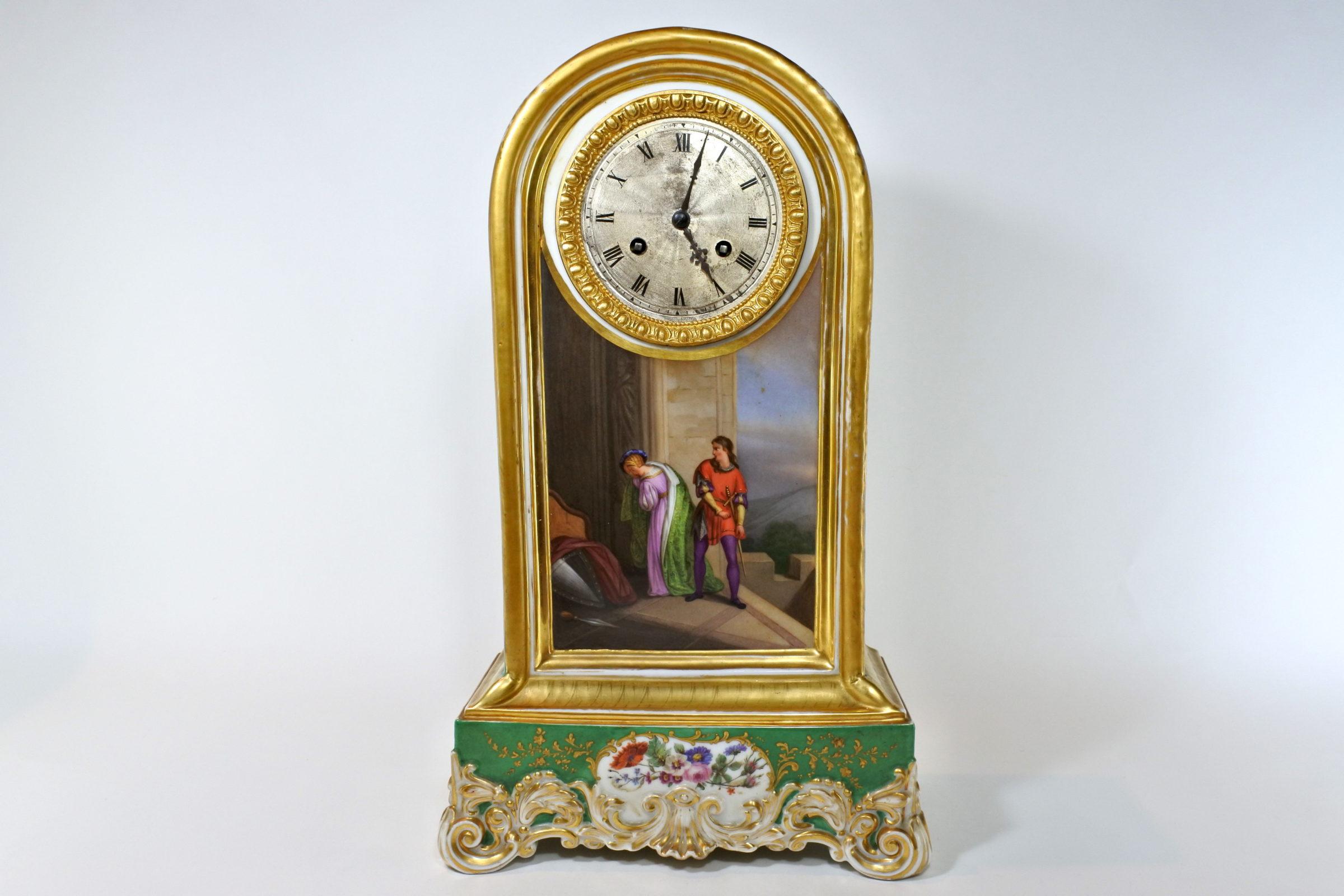 Orologio in porcellana di Sèvres
