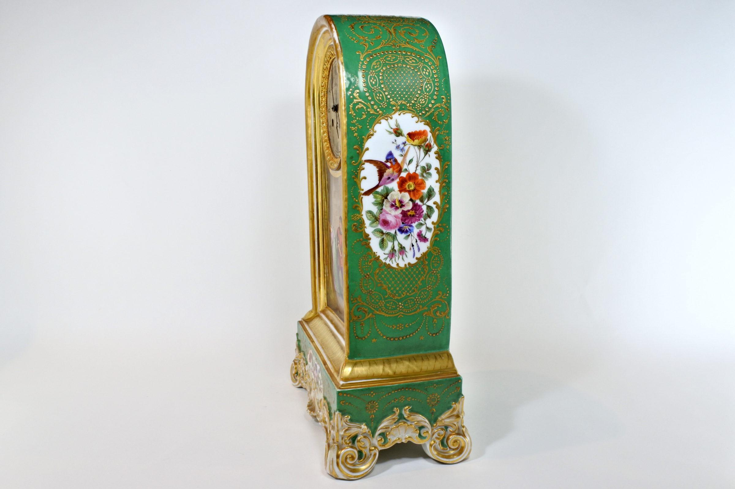 Orologio in porcellana di Sèvres - 2