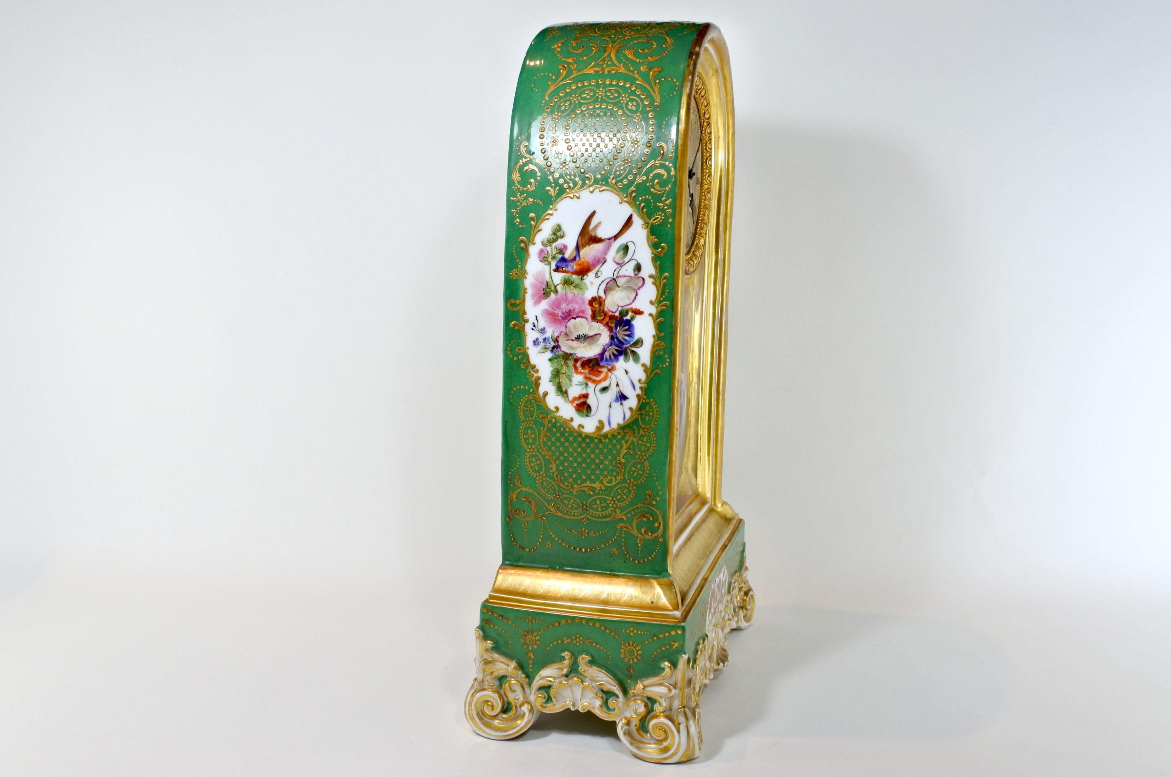 Orologio in porcellana di Sèvres - 4