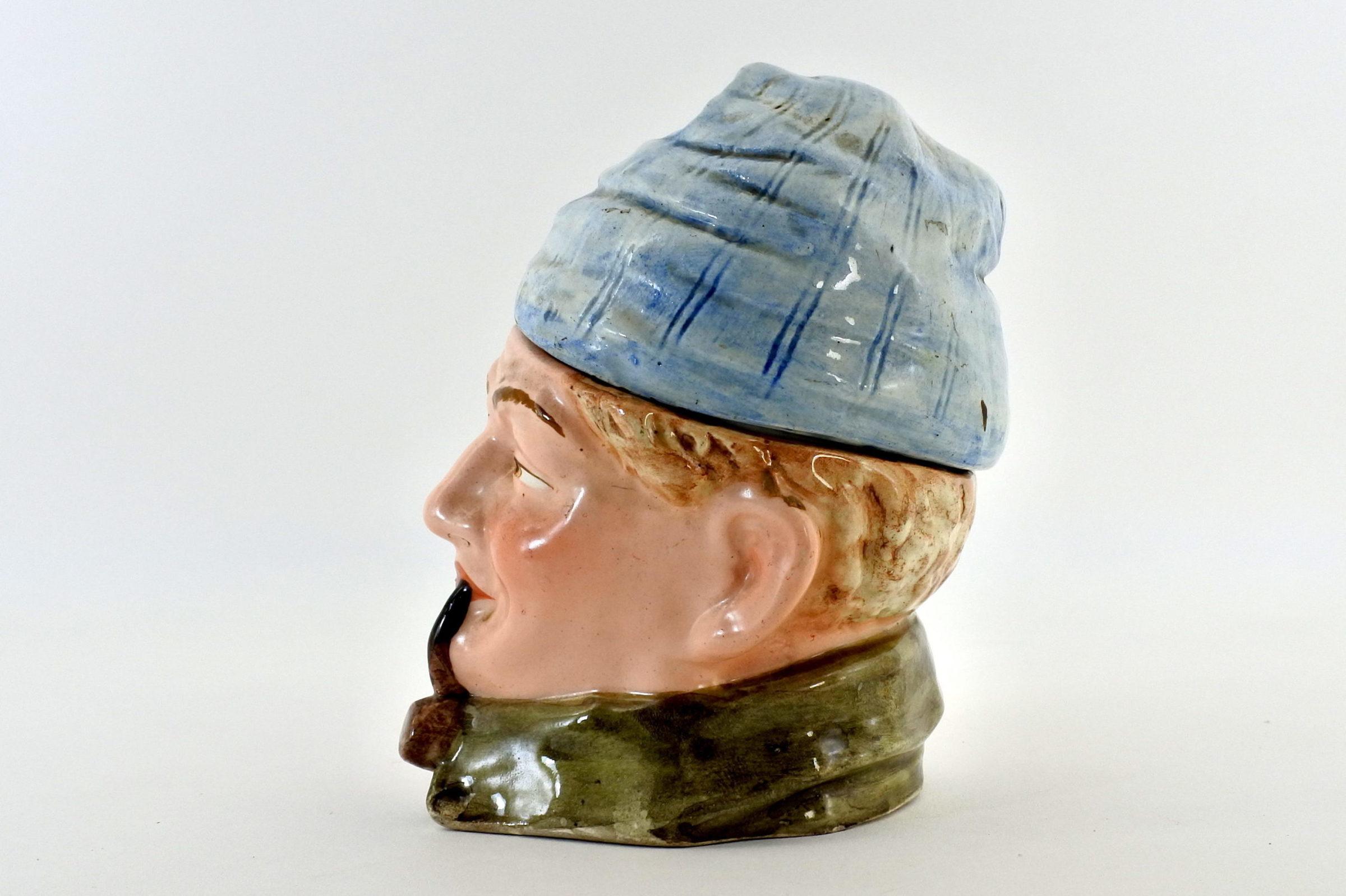 Portatabacco in ceramica - Altezza 14,5 cm - 2