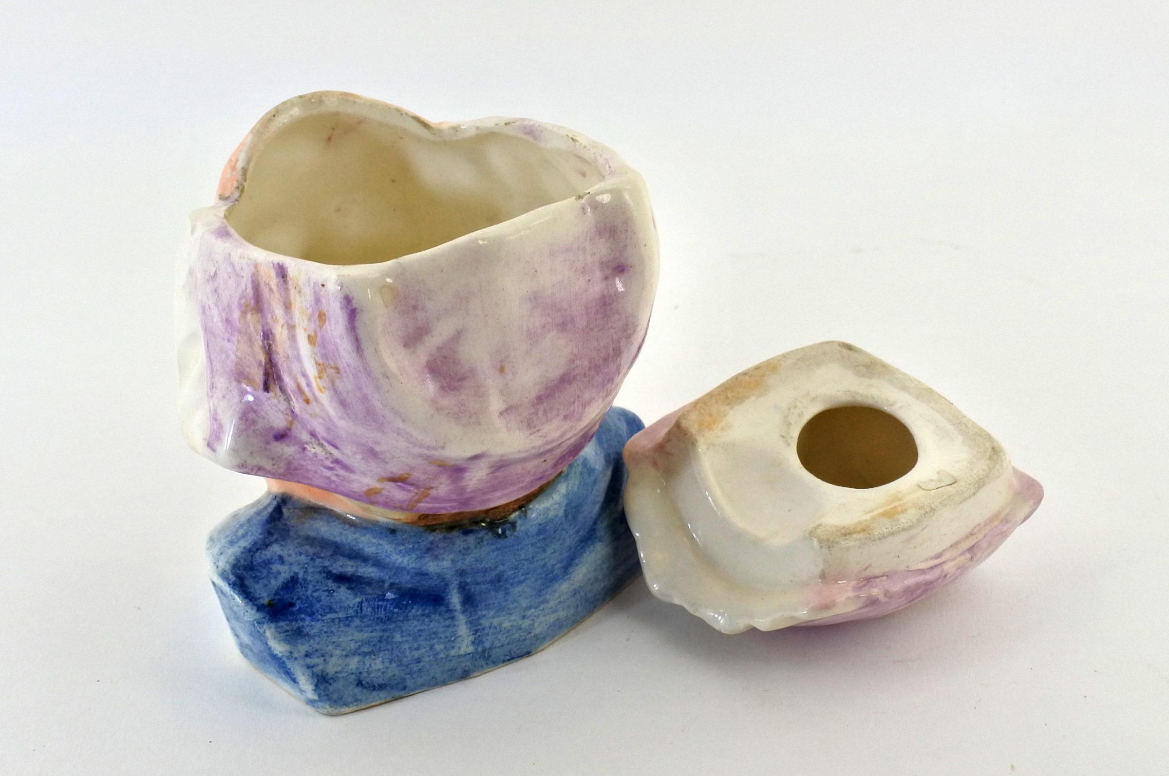 Portatabacco in ceramica - Altezza 12 cm - 3