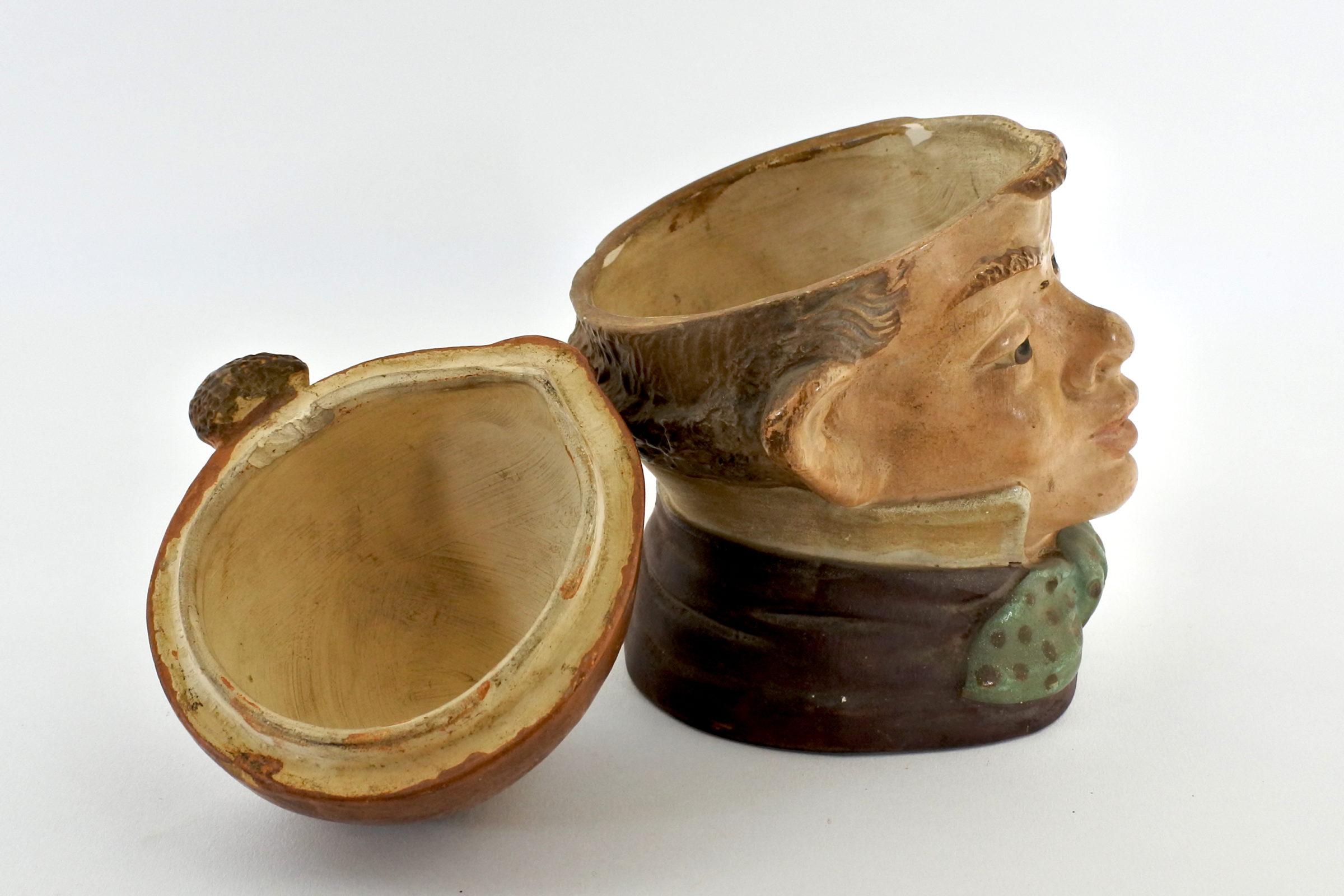 Portatabacco in ceramica - 5