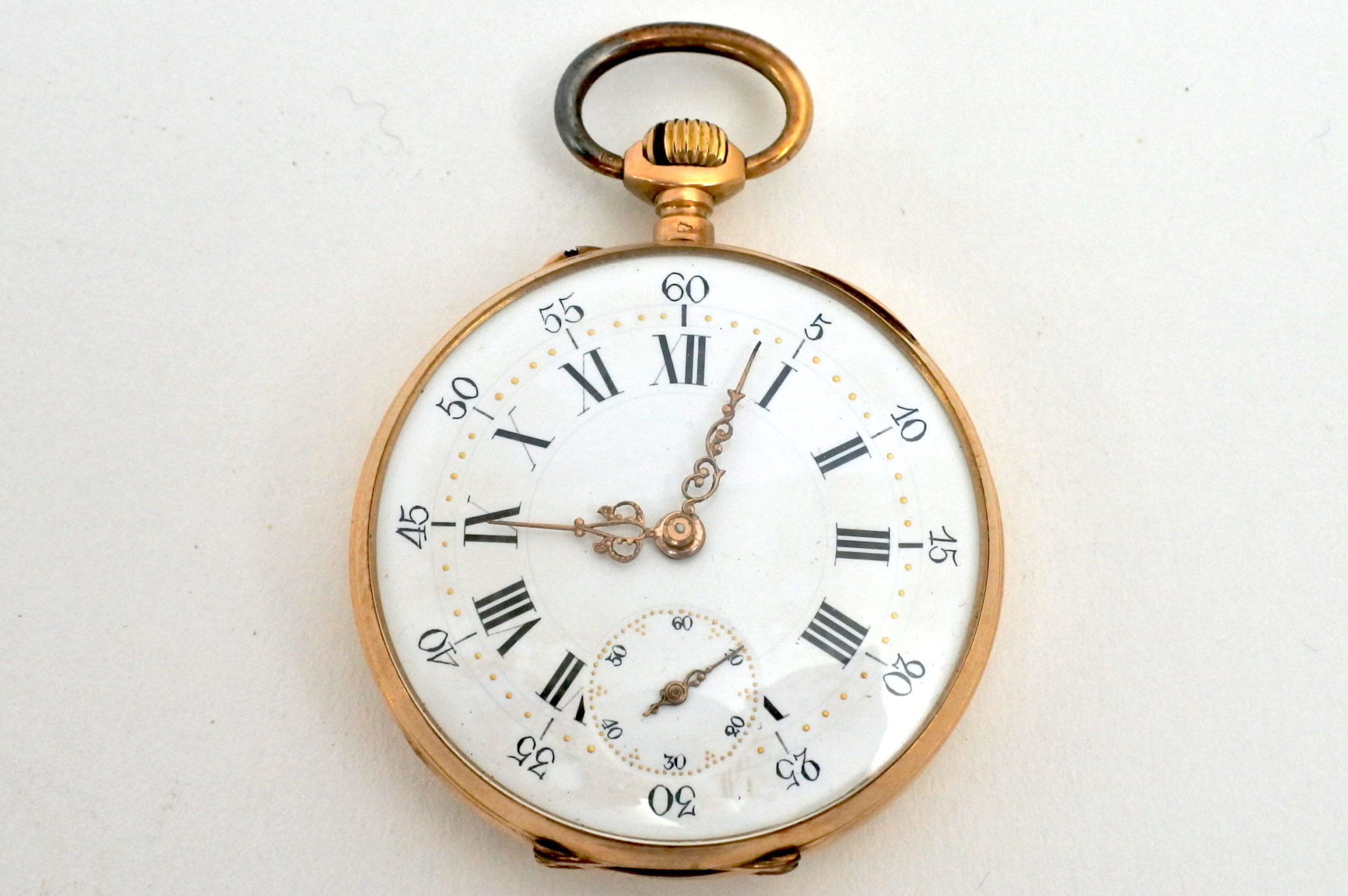 Orologio da tasca in oro - Octave Dupont