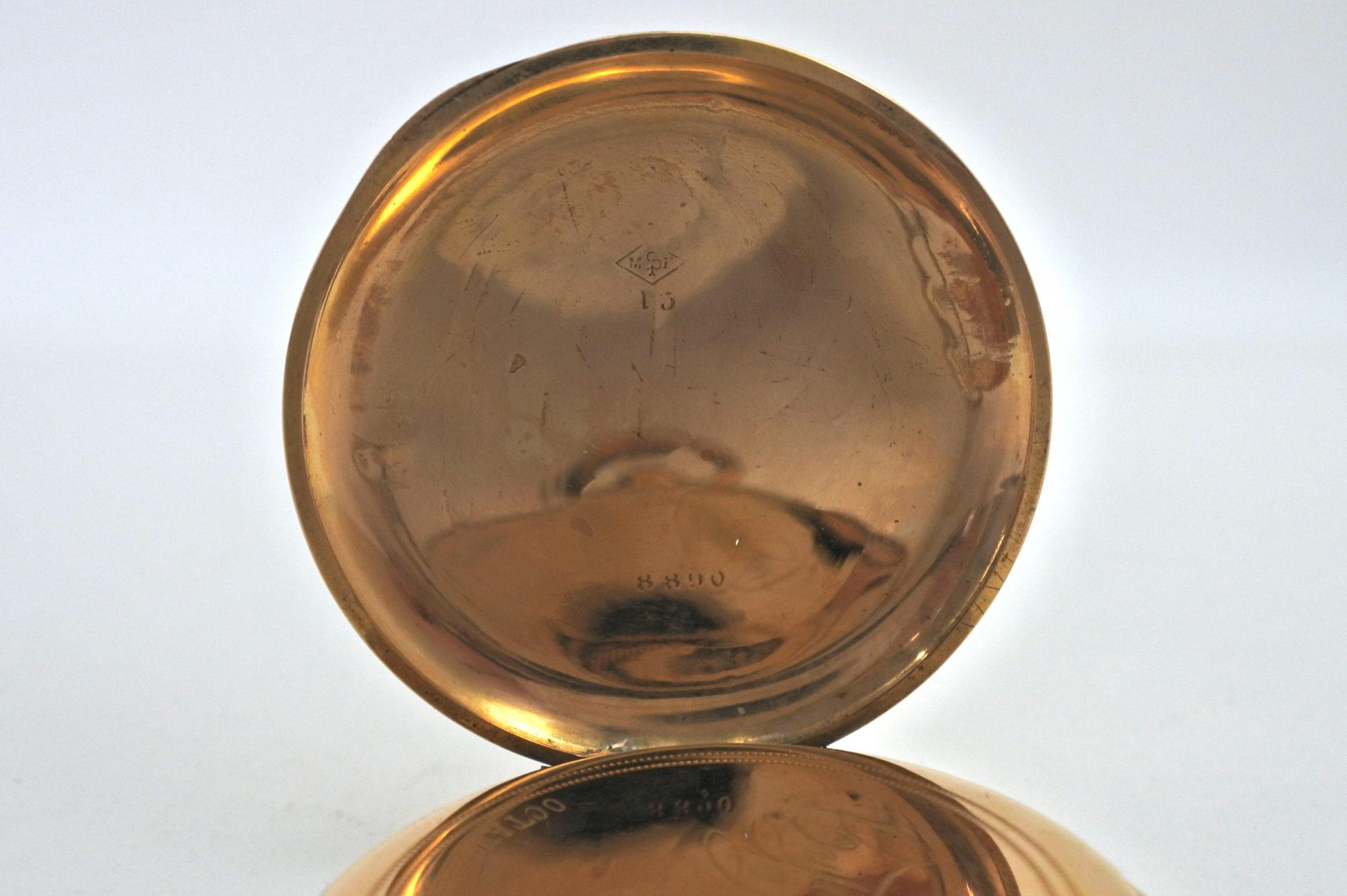 Orologio da tasca in oro - Octave Dupont - 3