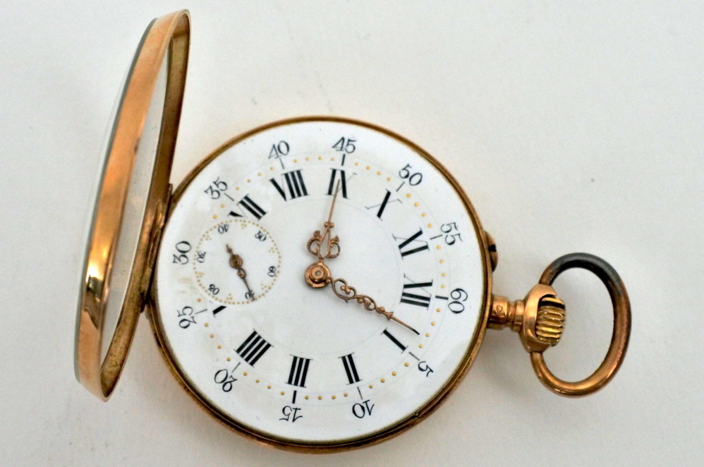Orologio da tasca in oro - Octave Dupont - 5