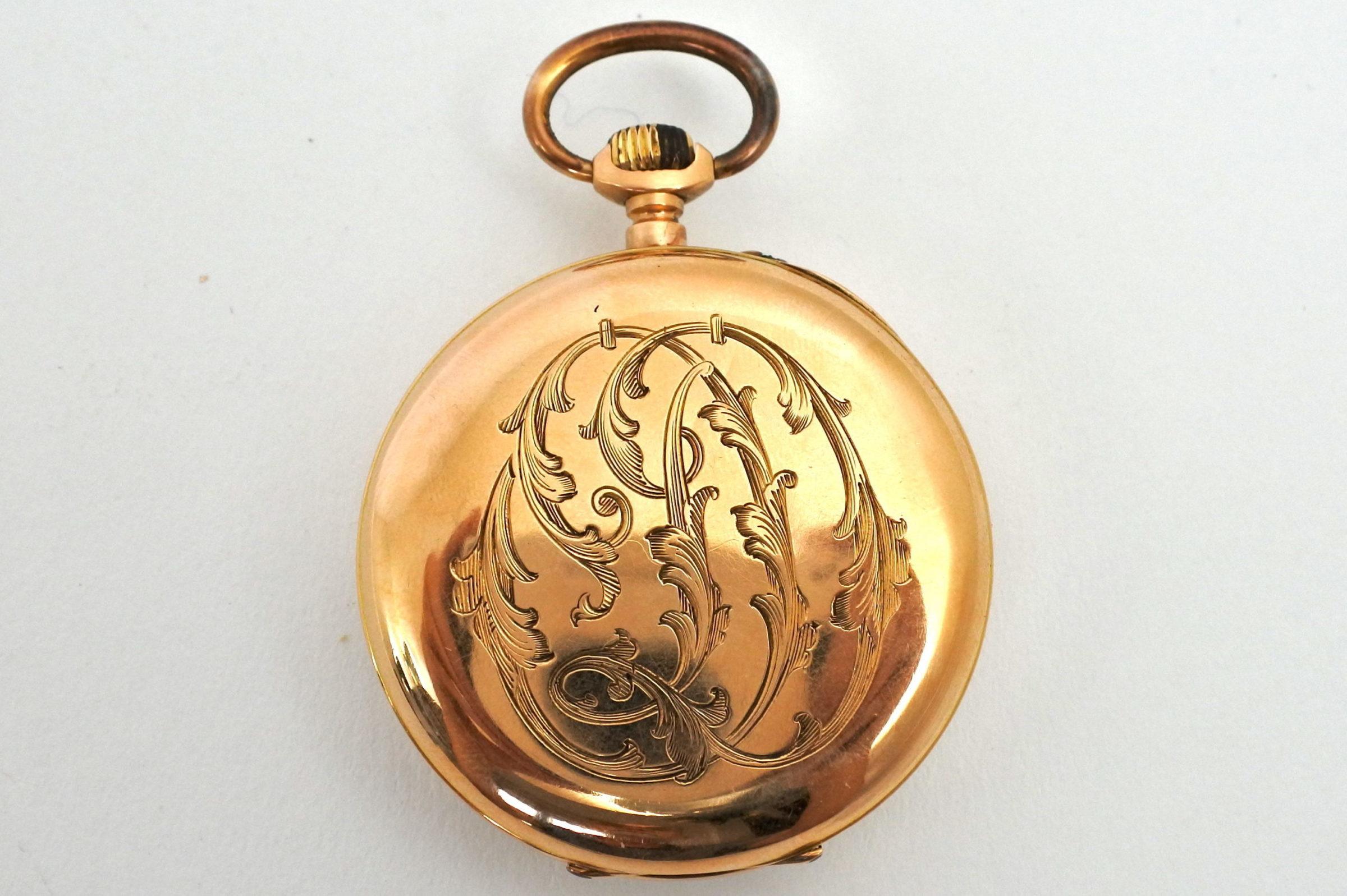Orologio da tasca in oro - Octave Dupont - 7