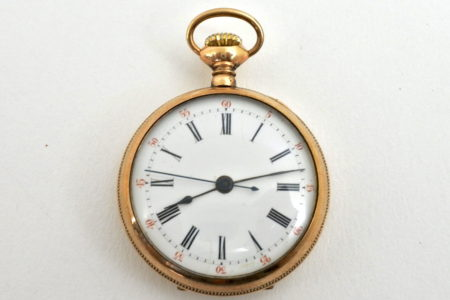 Orologio da tasca - monachina in oro