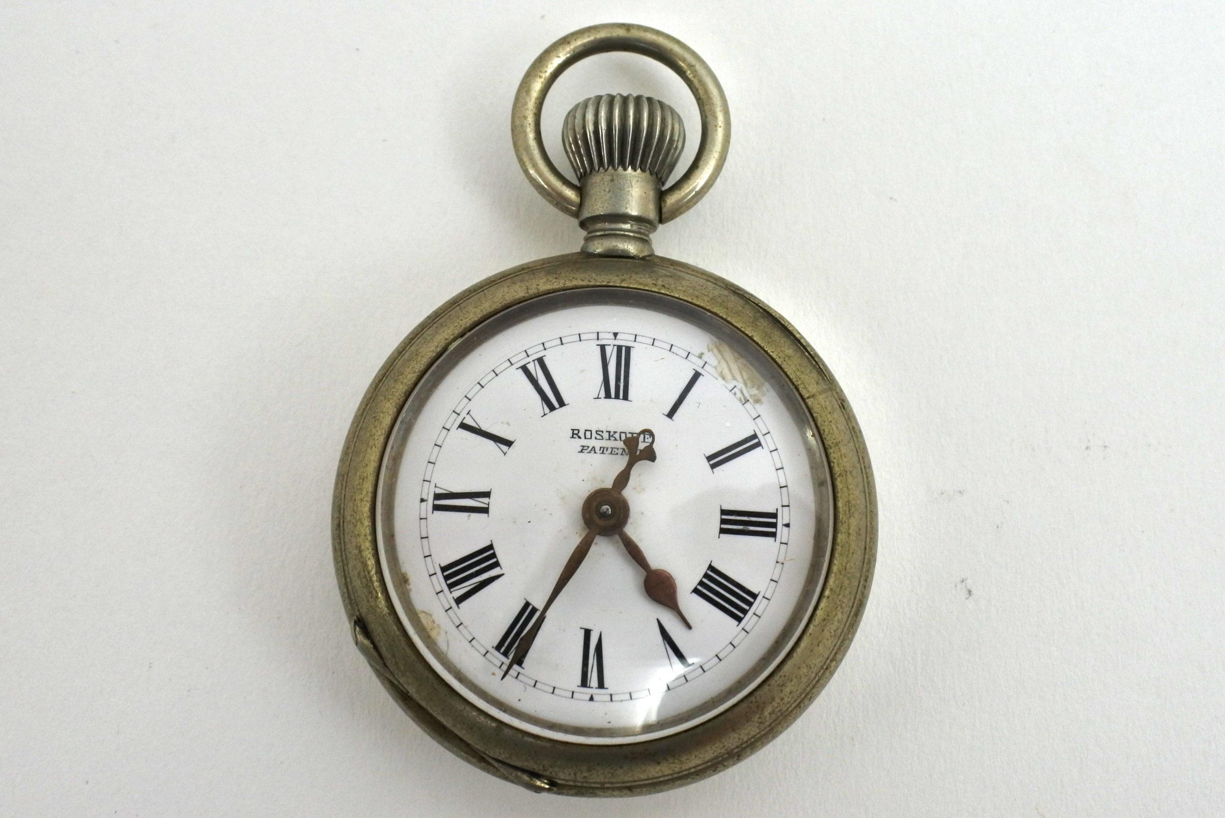 Orologio da tasca Roskopf patent