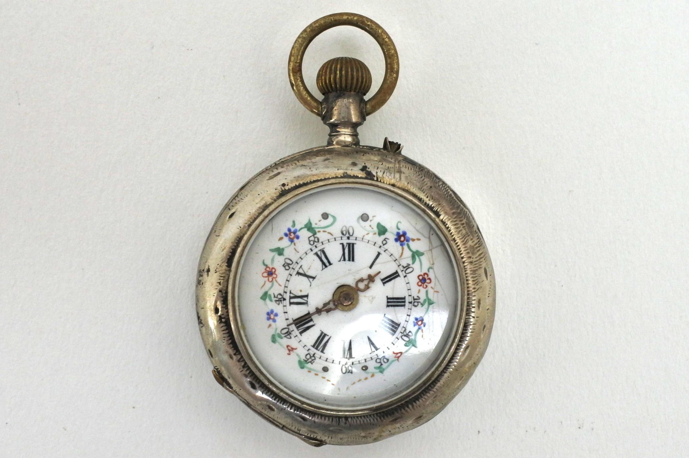 Orologio da tasca Tissot Genève – monachina in argento