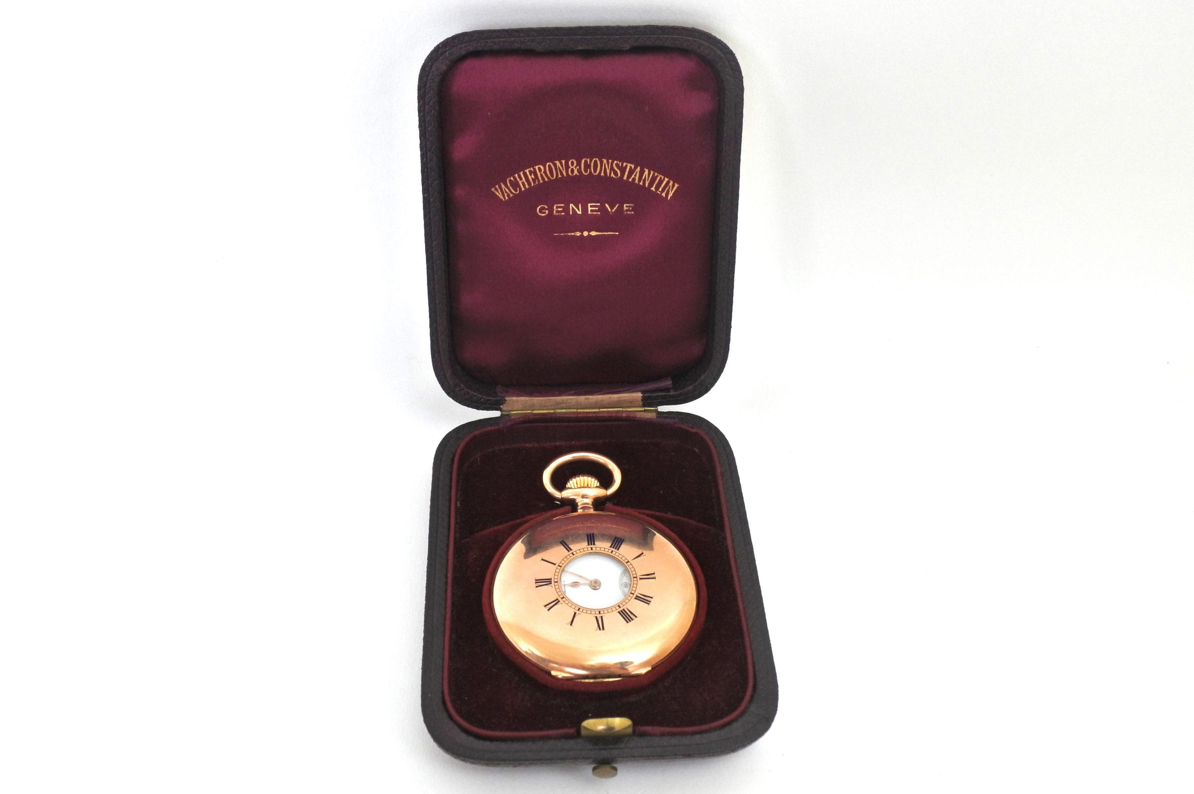 Orologio da tasca occhio di bue in oro - Vacheron & Constantin Genève