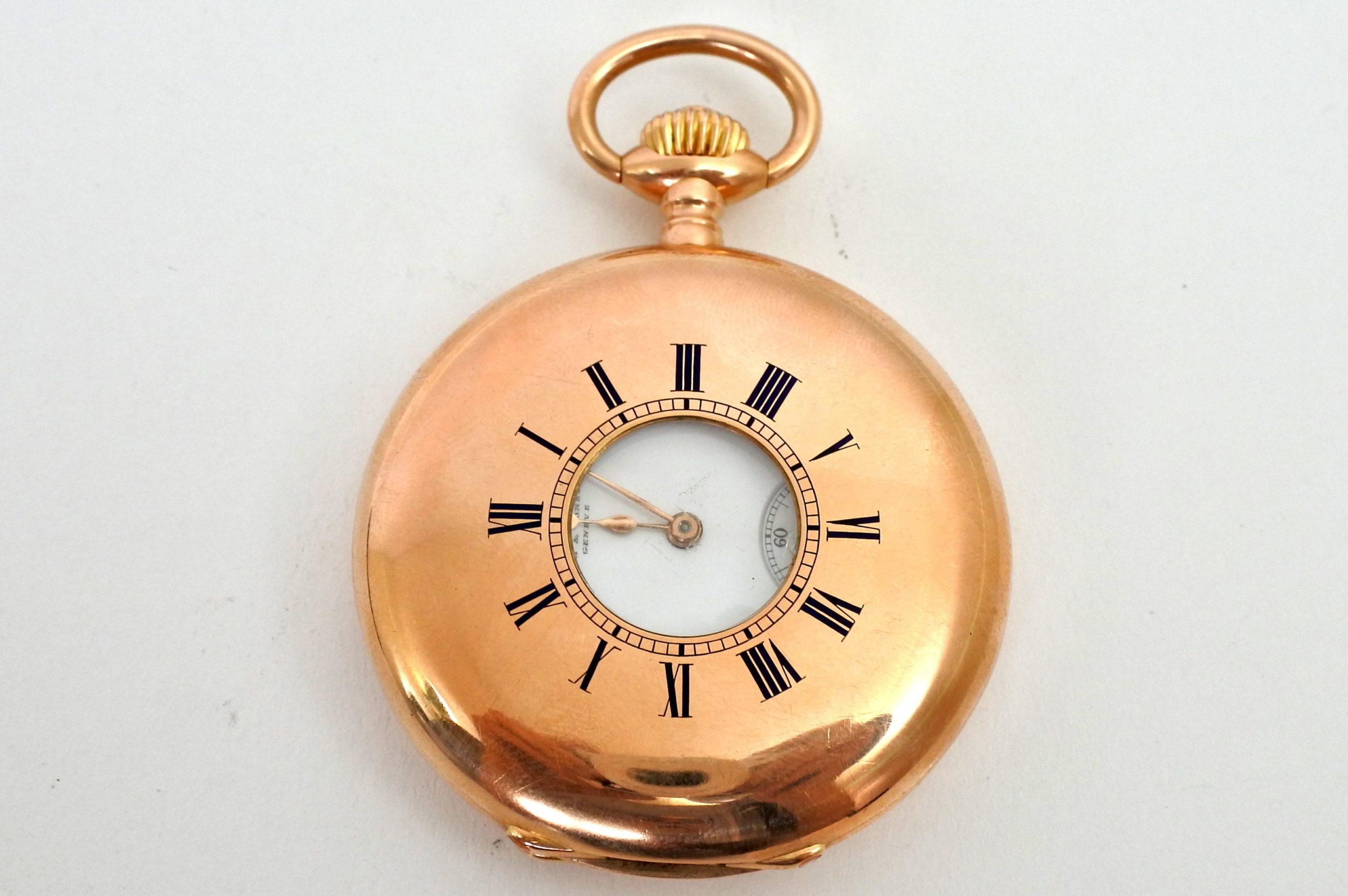 Orologio da tasca occhio di bue in oro - Vacheron & Constantin Genève - 2