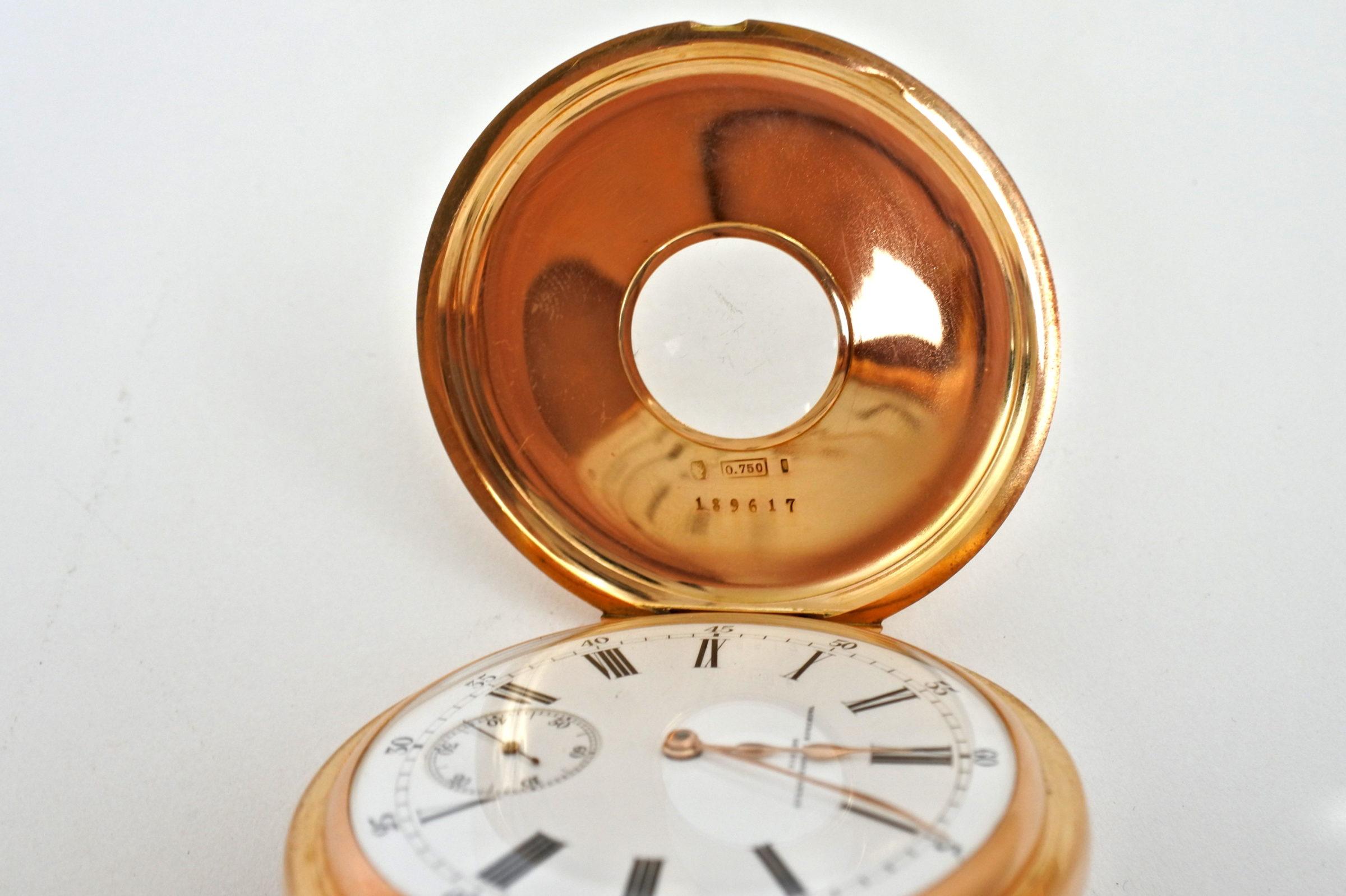 Orologio da tasca occhio di bue in oro - Vacheron & Constantin Genève - 4