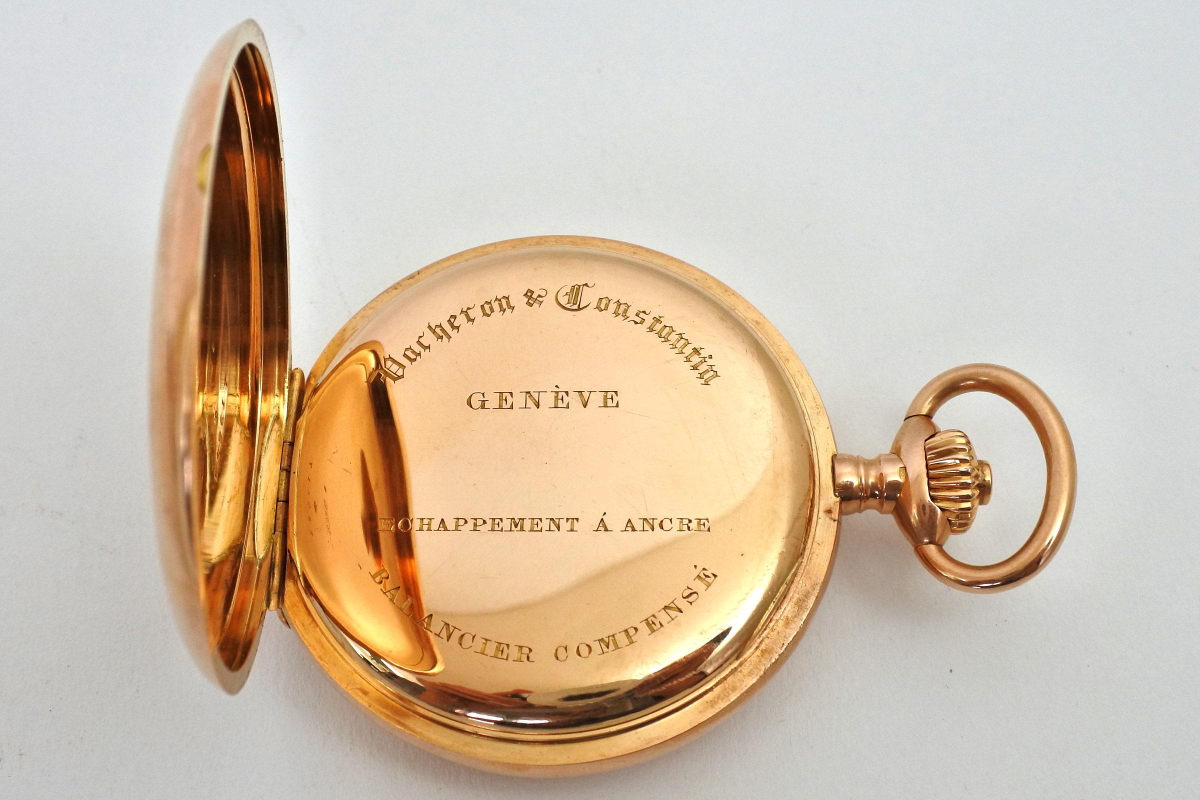 Orologio da tasca occhio di bue in oro - Vacheron & Constantin Genève - 6
