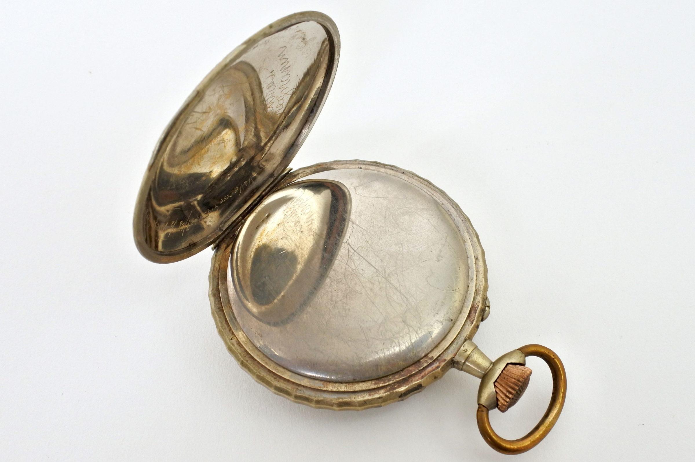 Bellissimo orologio da tasca in argento - 2