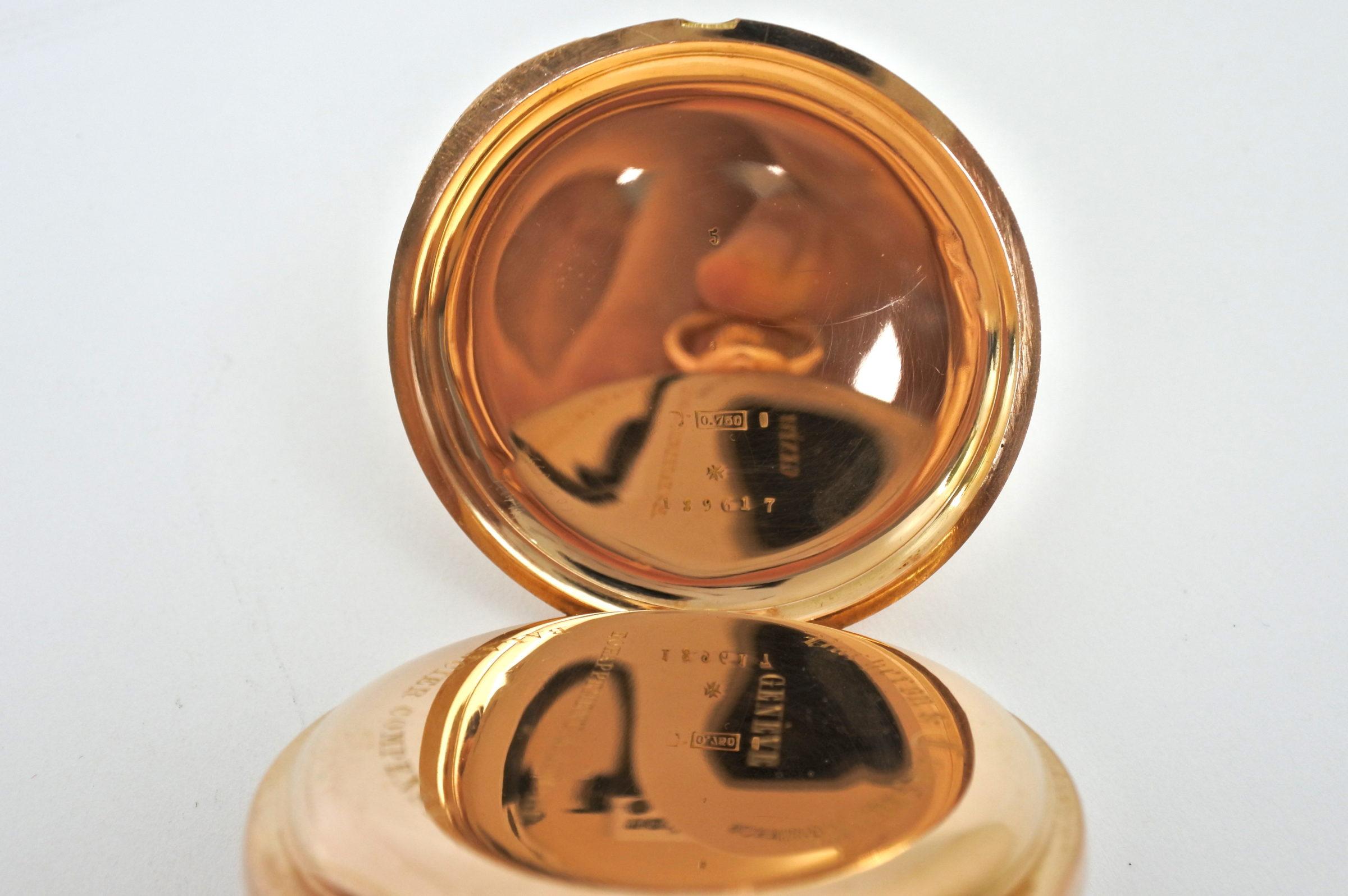 Orologio da tasca occhio di bue in oro - Vacheron & Constantin Genève - 7