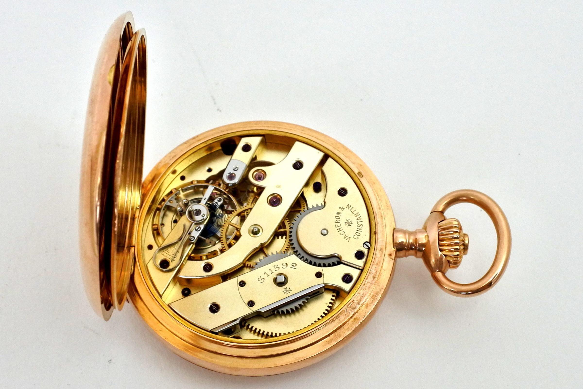 Orologio da tasca occhio di bue in oro - Vacheron & Constantin Genève - 8