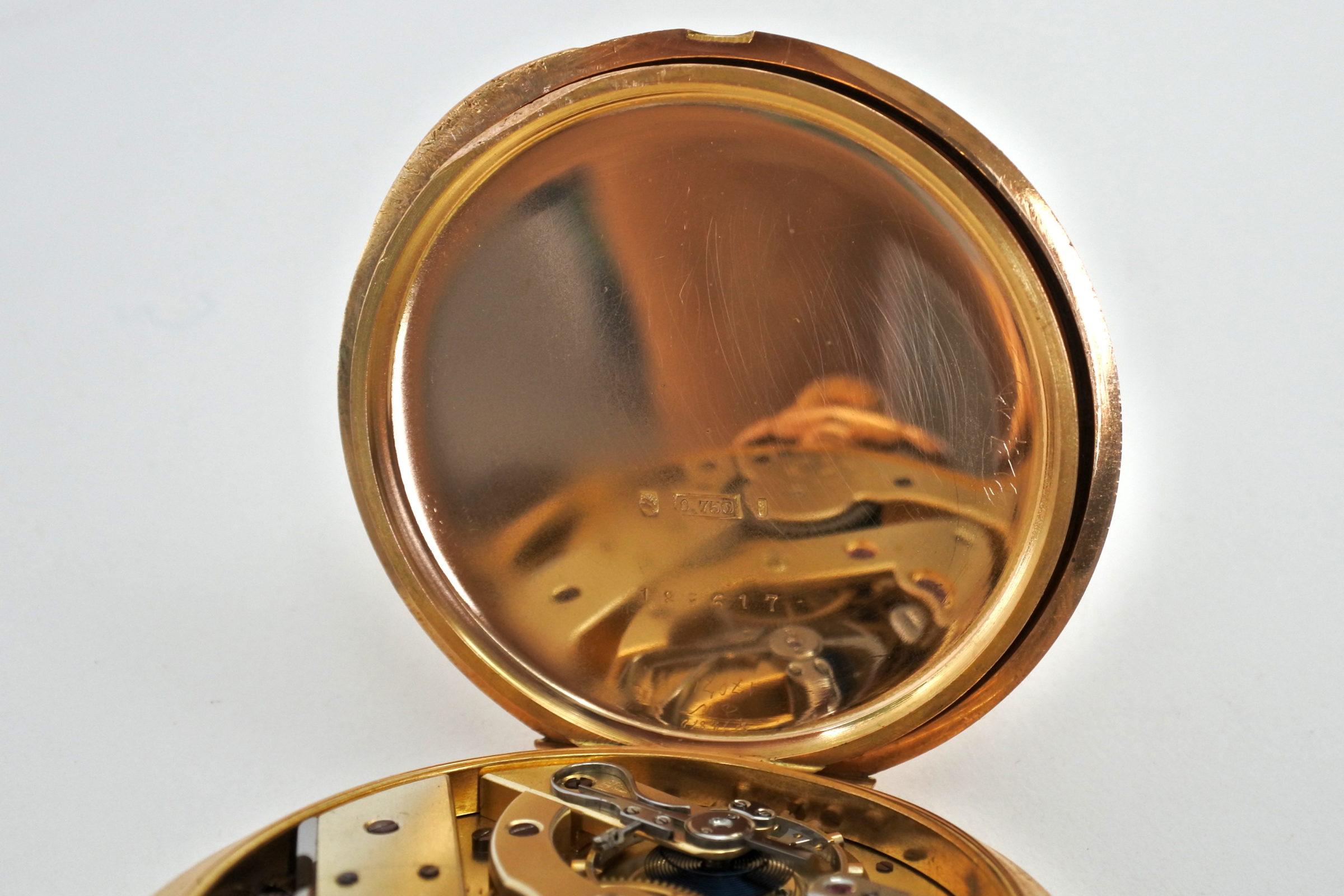 Orologio da tasca occhio di bue in oro - Vacheron & Constantin Genève - 9