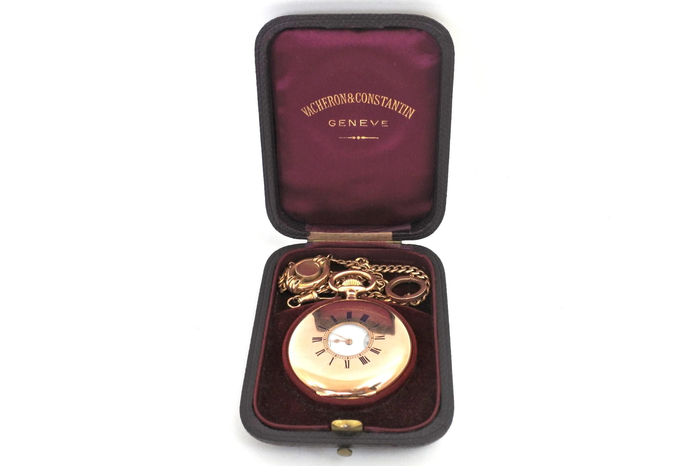 Orologio da tasca occhio di bue in oro - Vacheron & Constantin Genève - 11