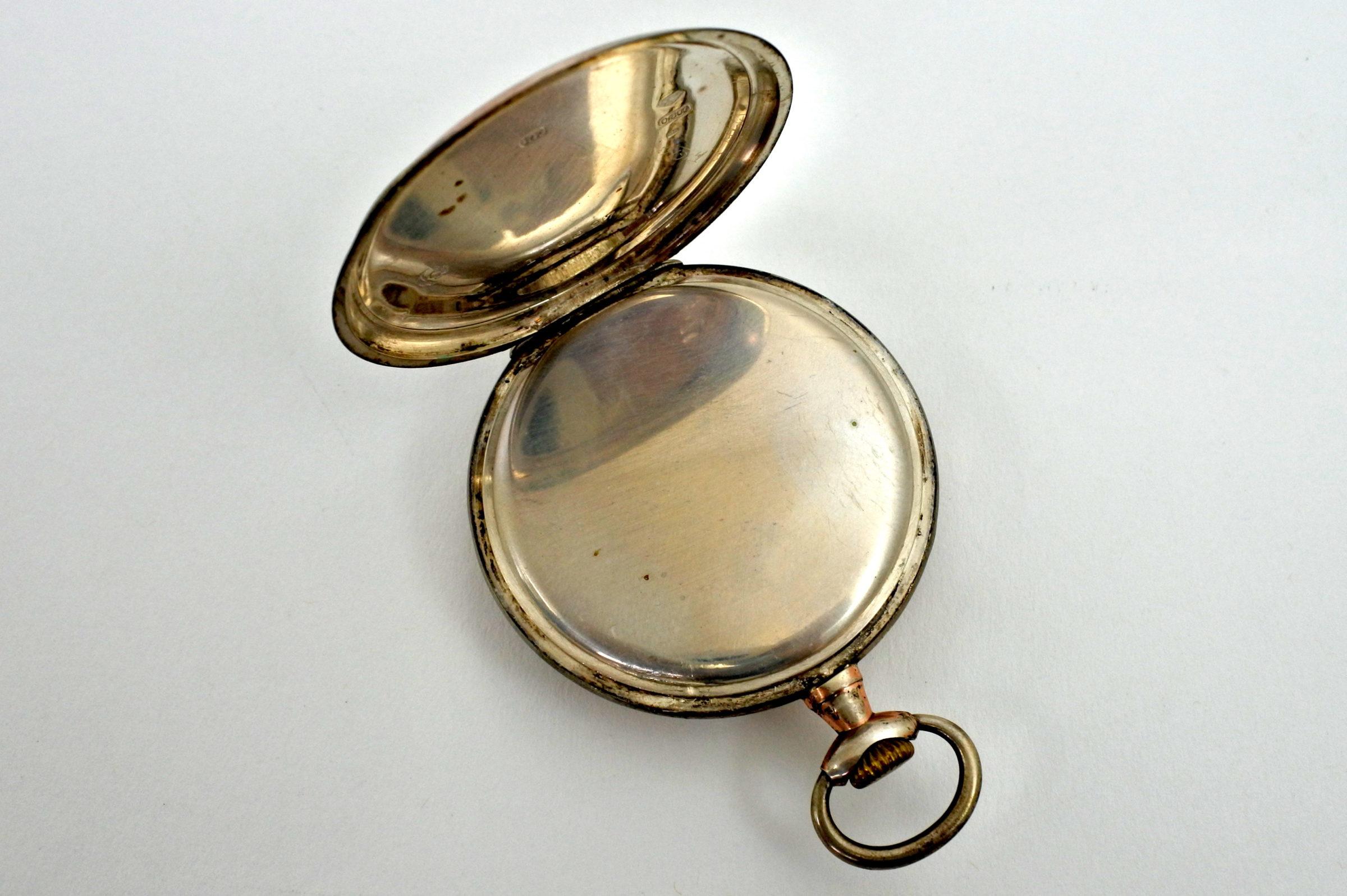 Orologio da tasca in argento – Arcadia - 2
