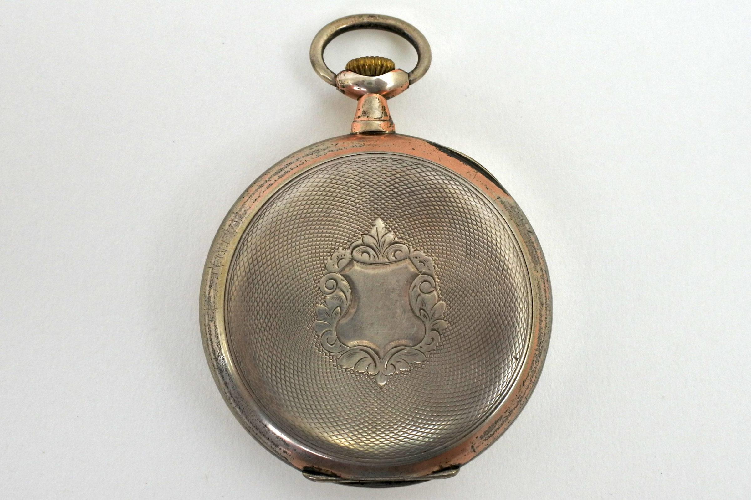 Orologio da tasca in argento – Arcadia - 5
