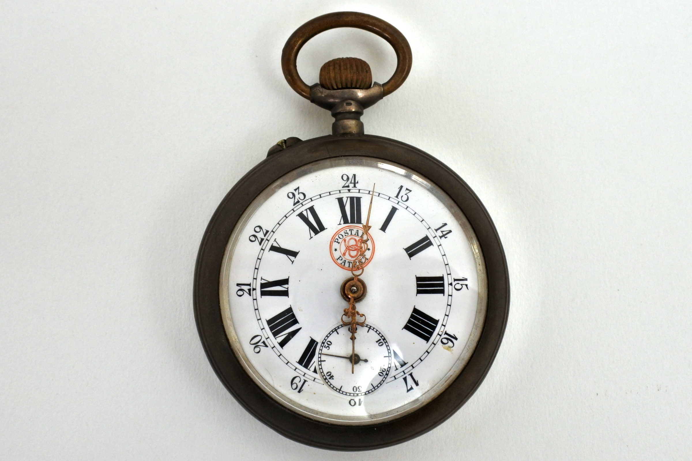 Orologio da tasca in argento – Postala patent