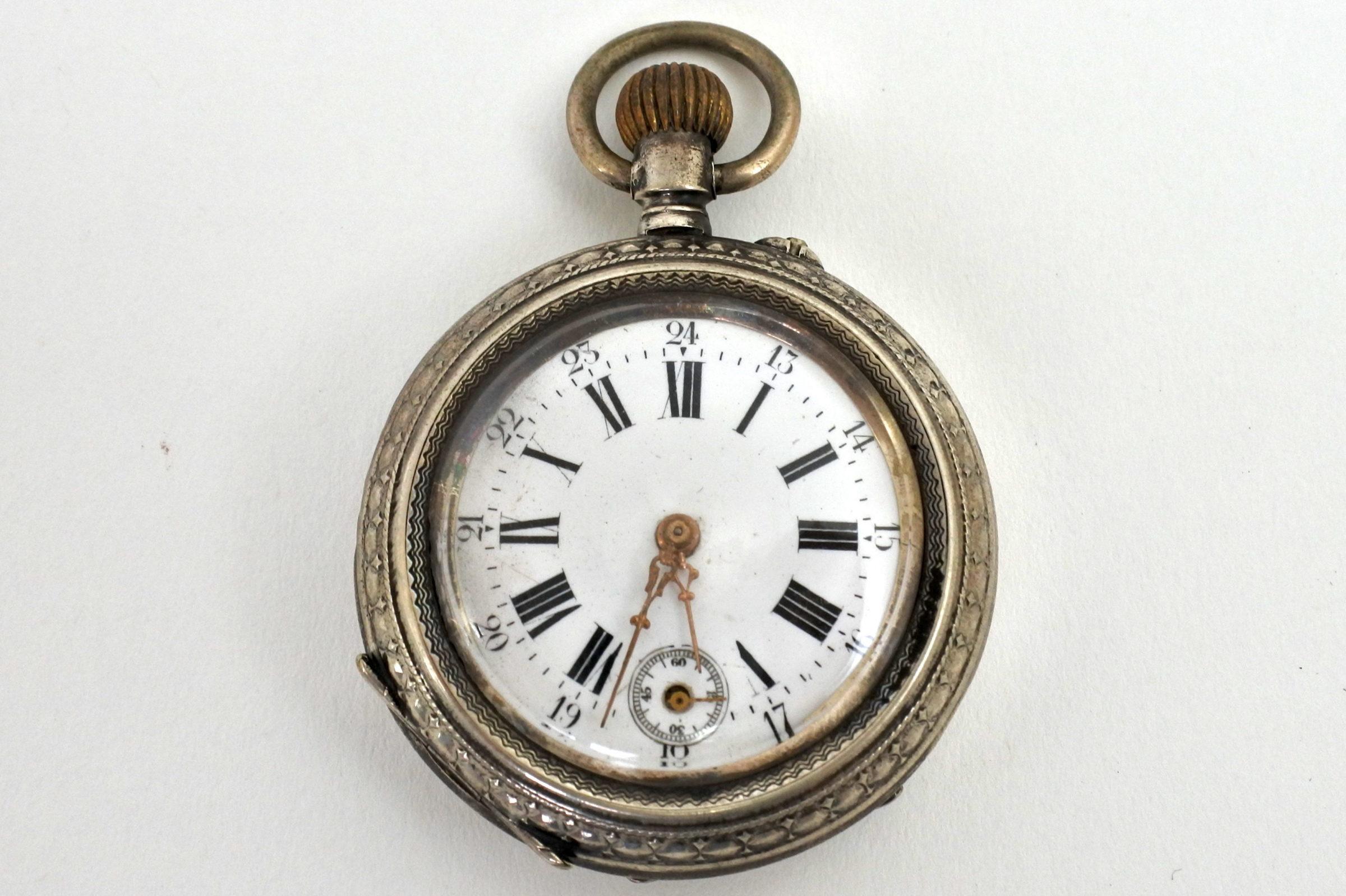 Orologio da tasca in argento – Eclipse