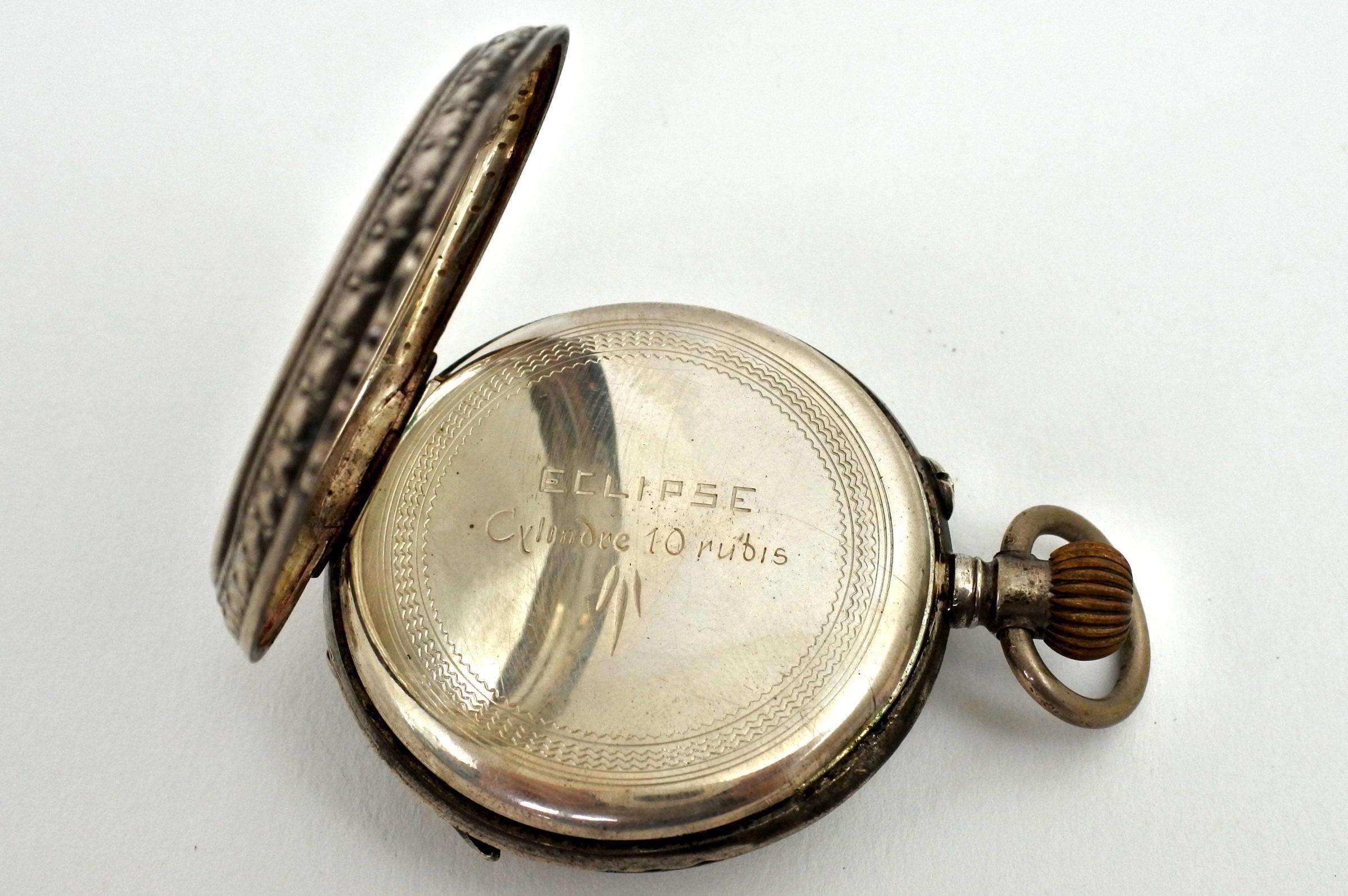 Orologio da tasca in argento – Eclipse - 2