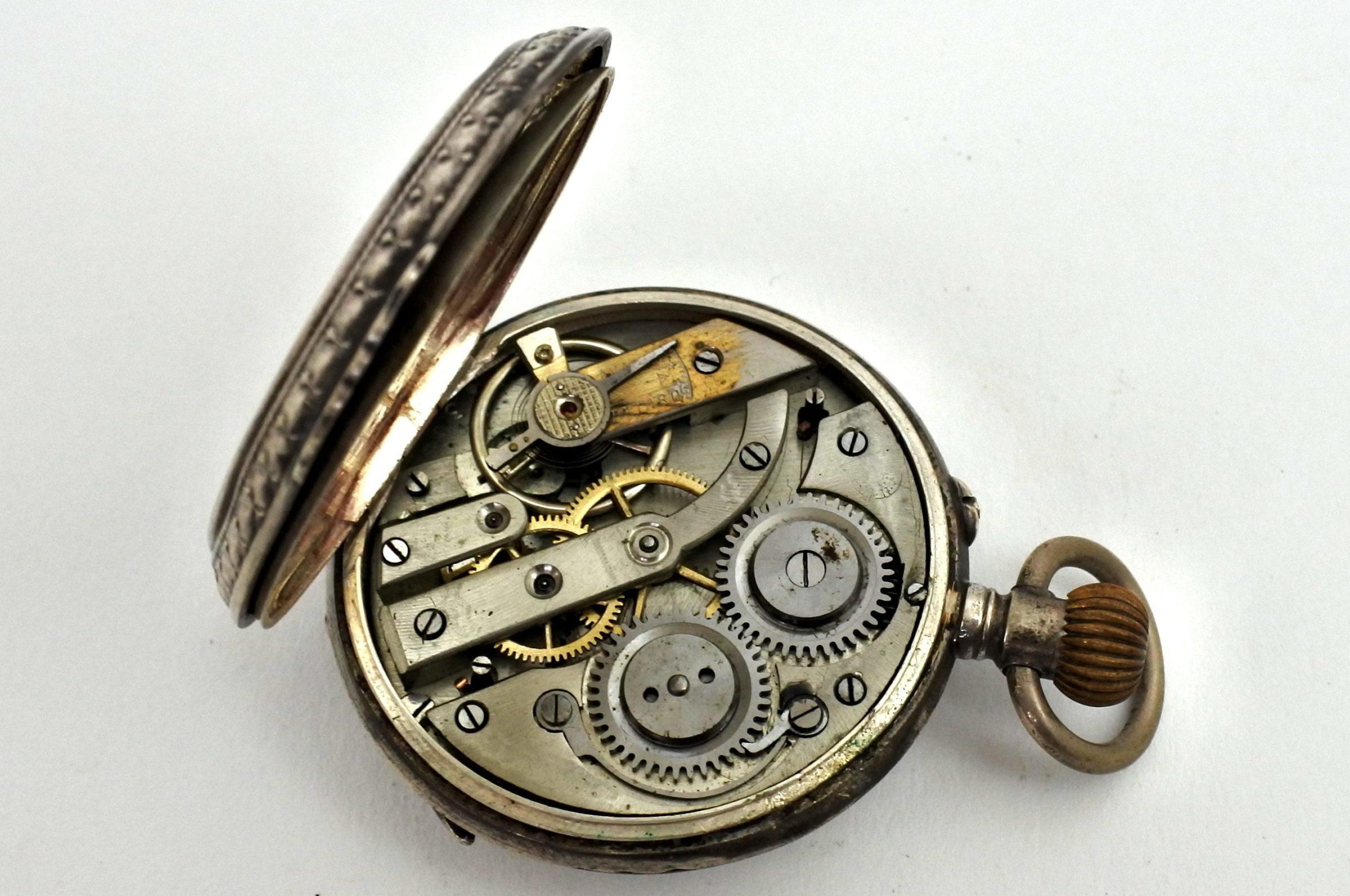 Orologio da tasca in argento – Eclipse - 3