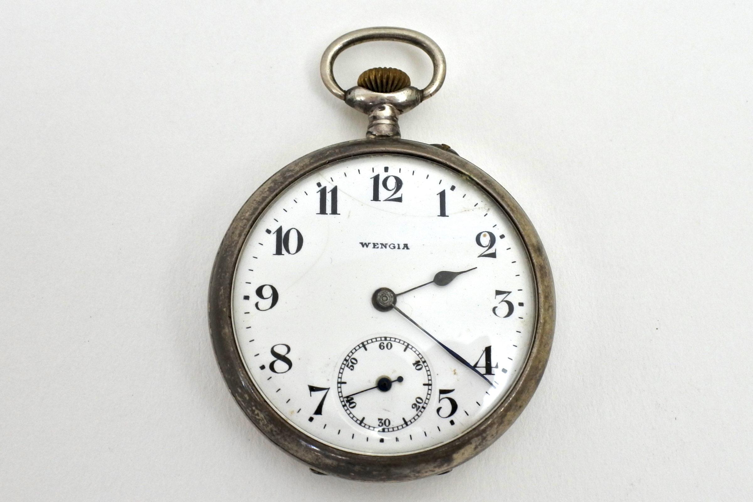 Orologio da tasca in argento – Wengia