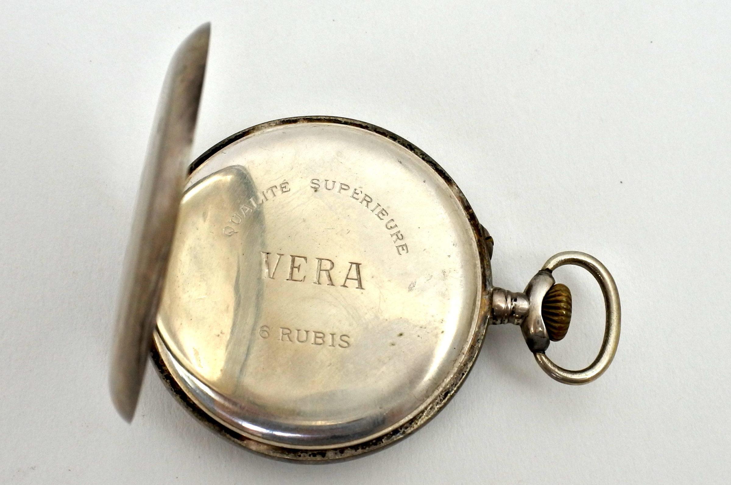 Orologio da tasca in argento – Wengia - 2