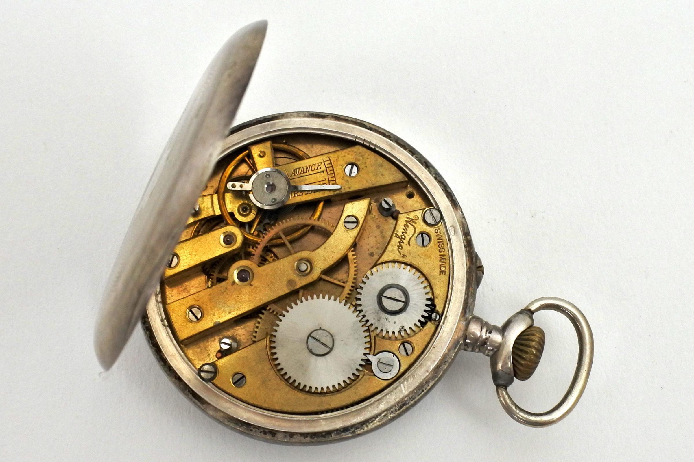 Orologio da tasca in argento – Wengia - 3