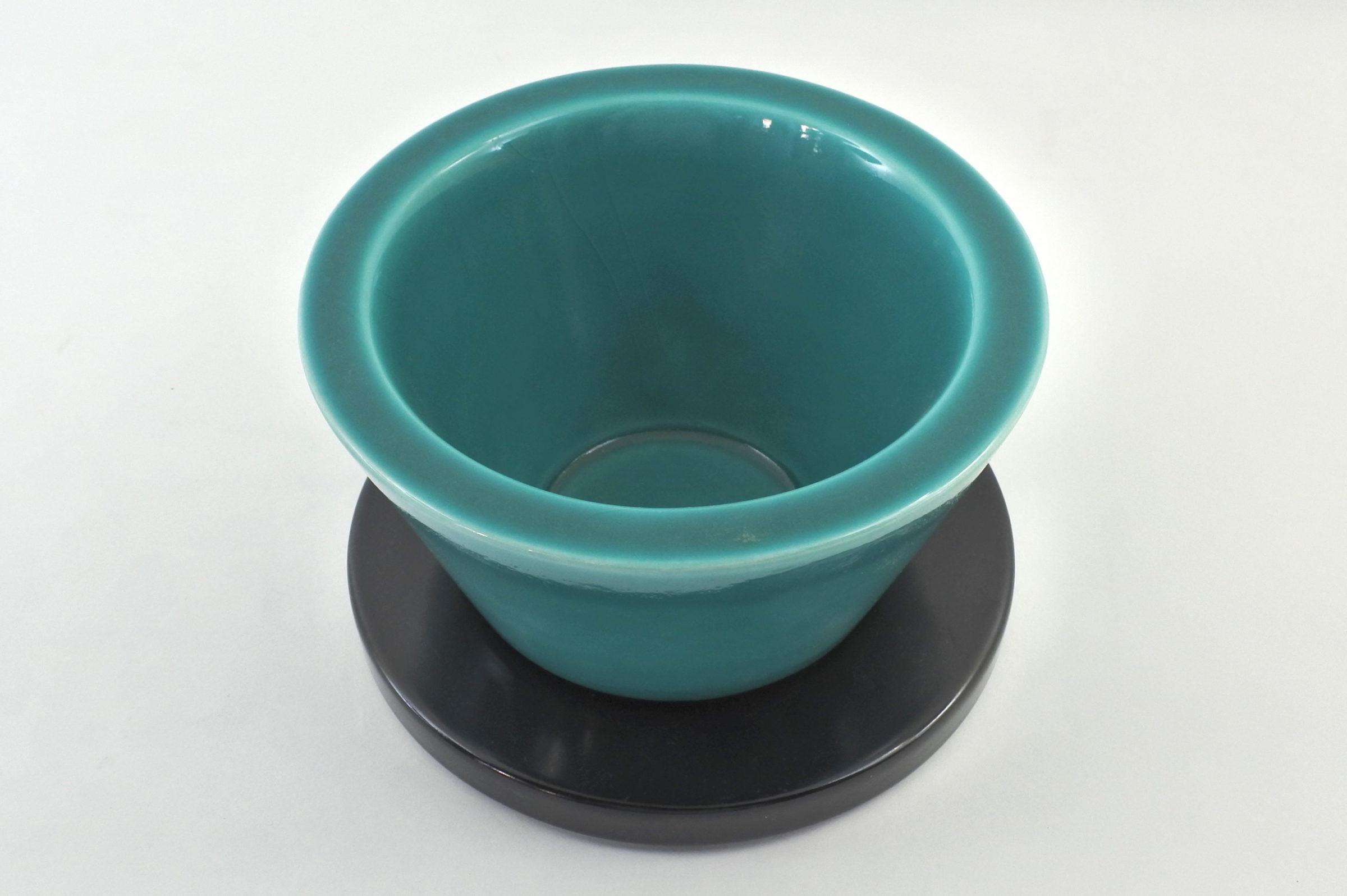 Coppa Frank in ceramica - Designer Marco Zanini - Collezione Hollywood - 2