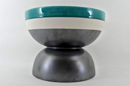 Designer Ettore Sottsass - Coppa in ceramica