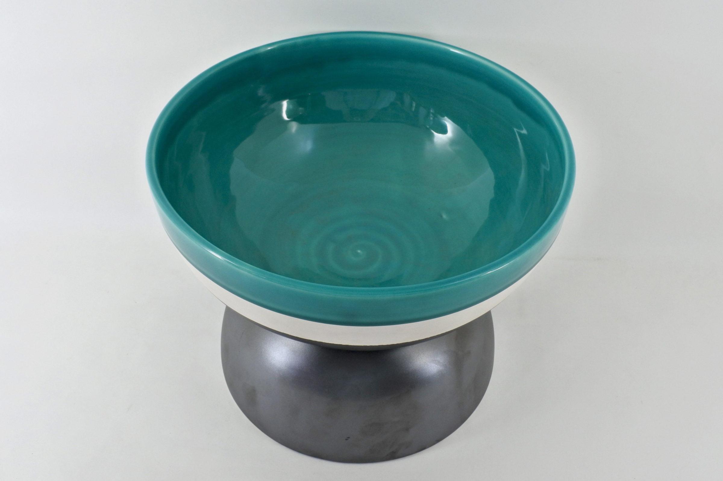 Designer Ettore Sottsass - Coppa in ceramica - 2