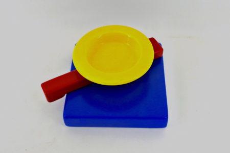 Posacenere Squash in ceramica - Memphis Milano