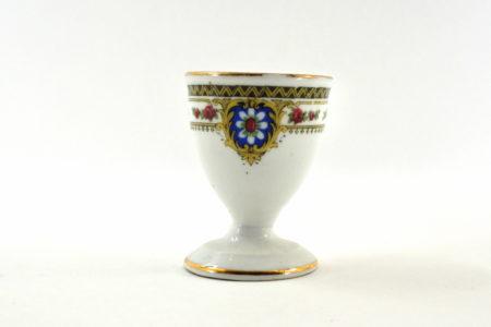 Portauovo in ceramica bianca - Altezza 6,3 cm
