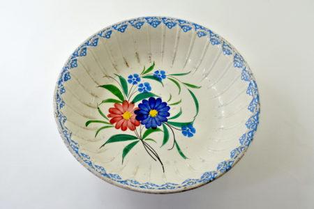 Catino Mondovì con decoro di fiori - Felice Musso