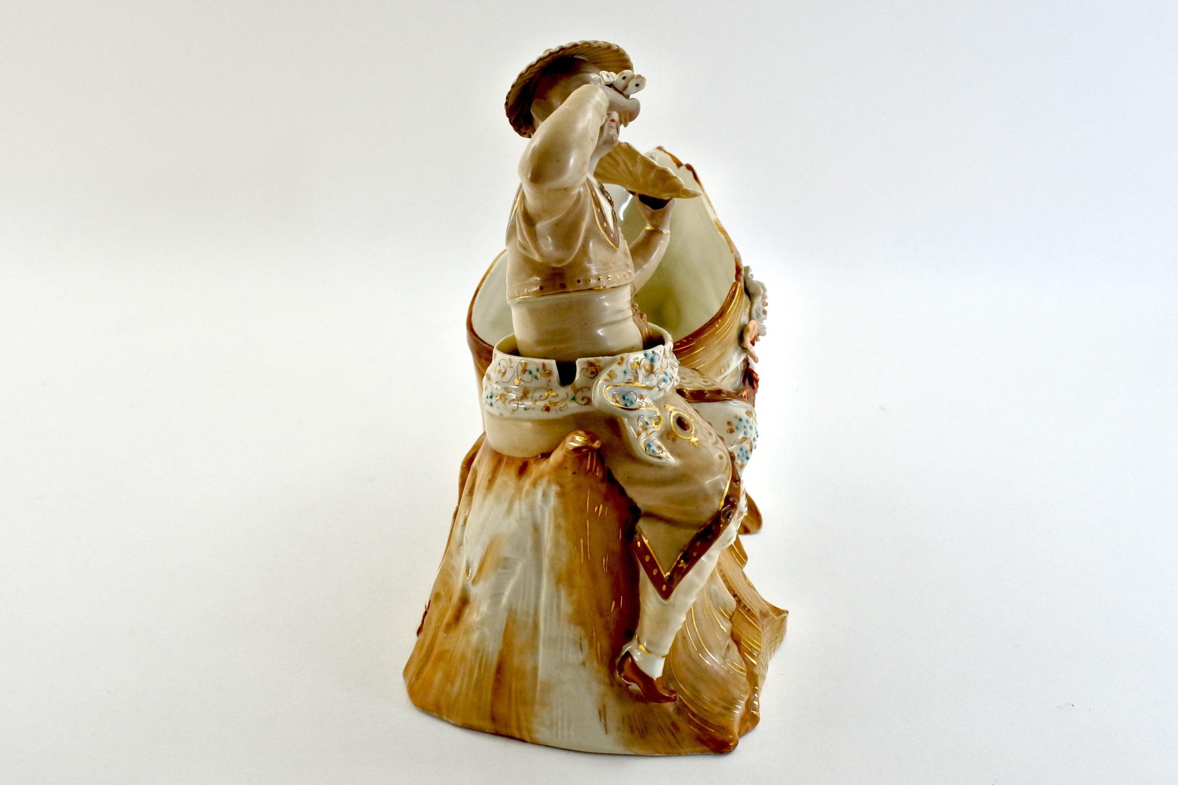 Cinese basculante in ceramica - Trembleur - 2