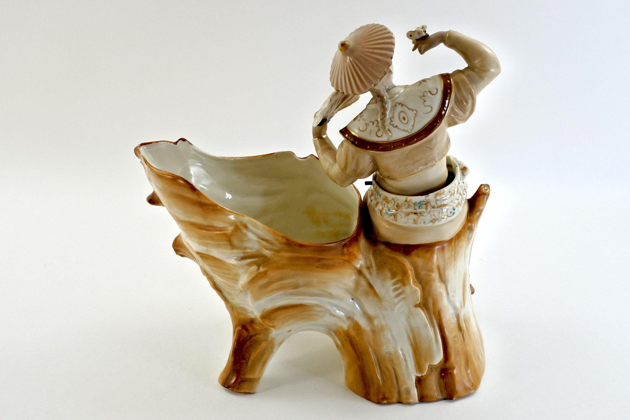 Cinese basculante in ceramica - Trembleur - 3