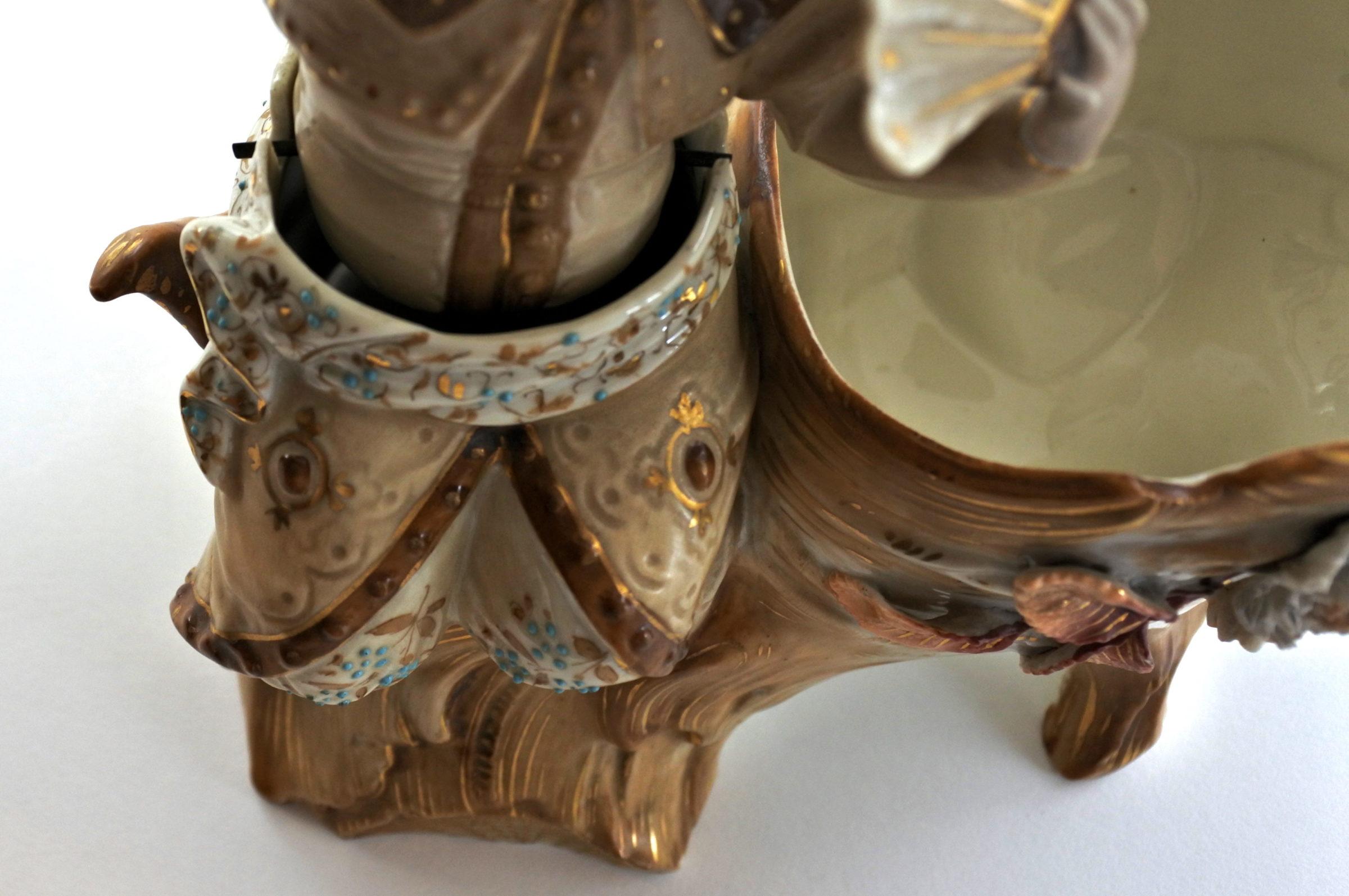 Cinese basculante in ceramica - Trembleur - 6