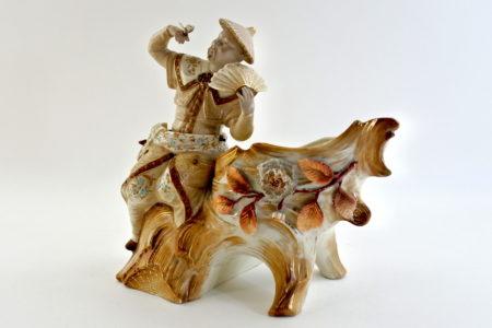 Cinese basculante in ceramica - Trembleur