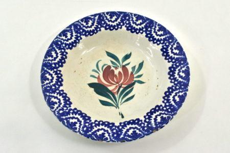 Piatto Mondovì raffigurante un fiore - Gabutti