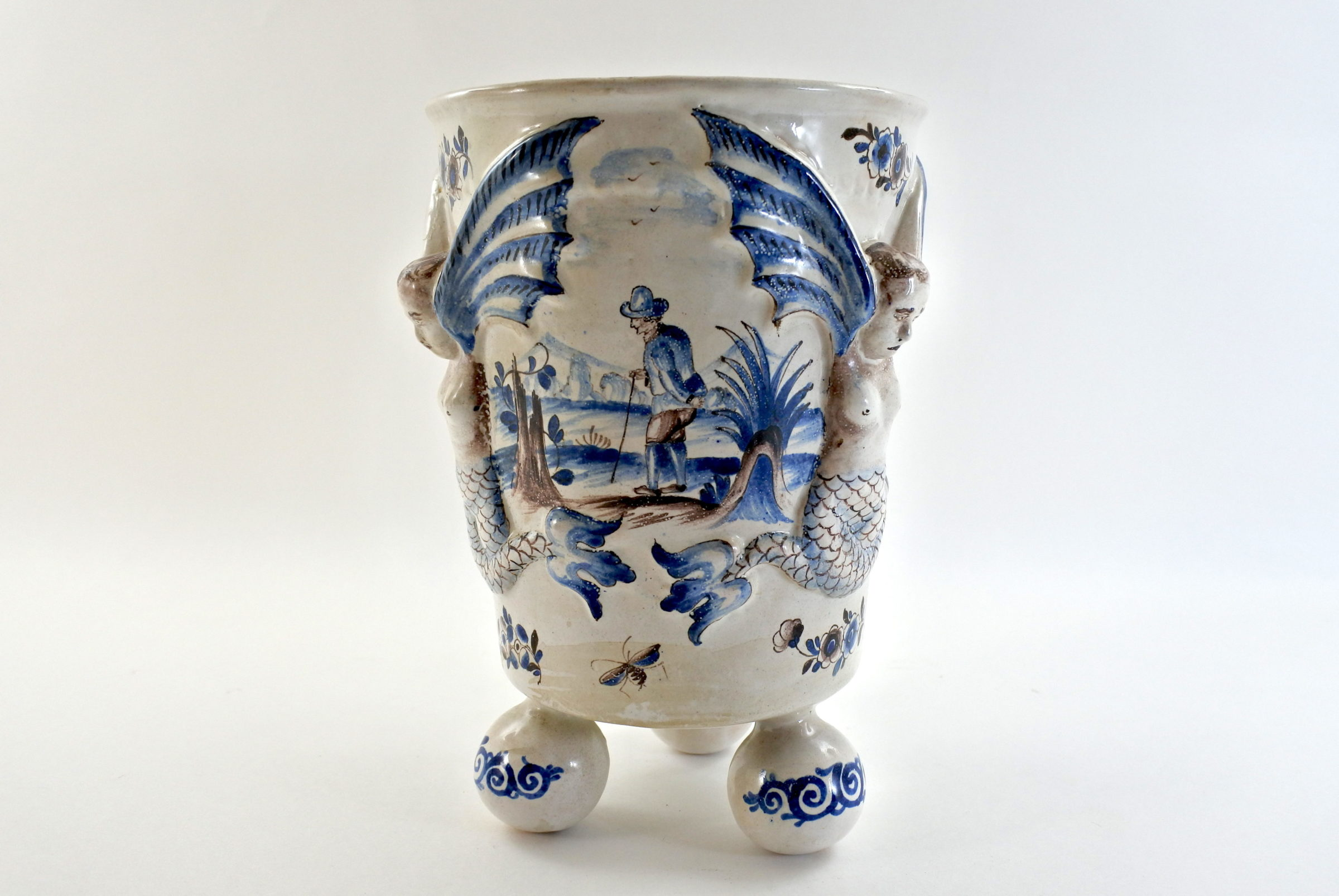 Rinfrescatoio Niderviller in ceramica - 2